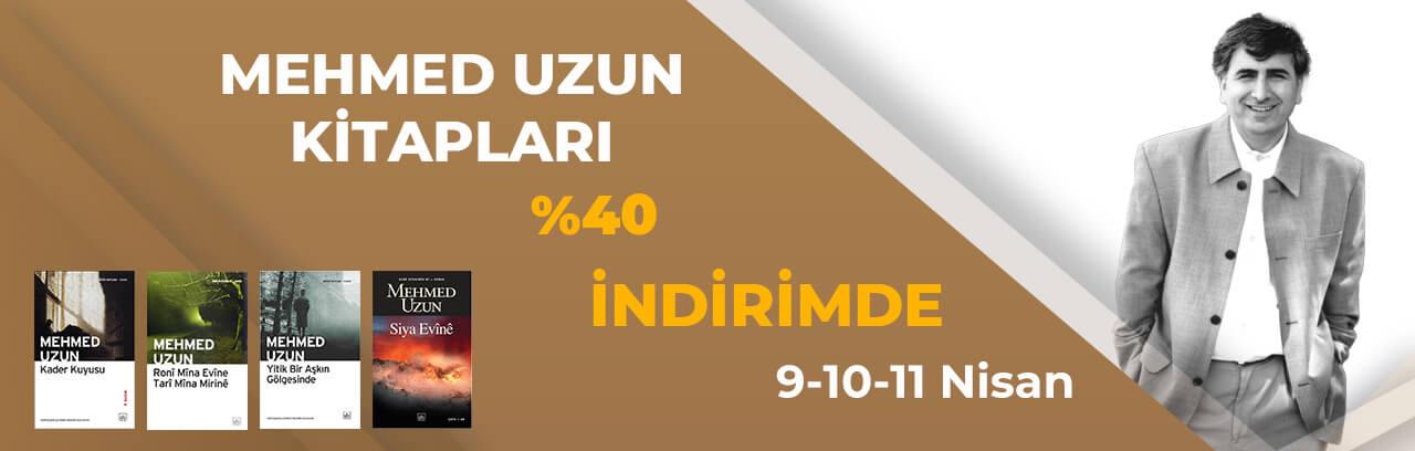 Mehmed Uzun kitapları 3 günlüğüne indirimde