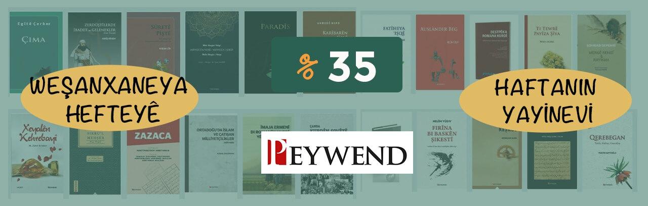 Peywend yayınlarının kitaplarını daha indirimli alabilirsiniz