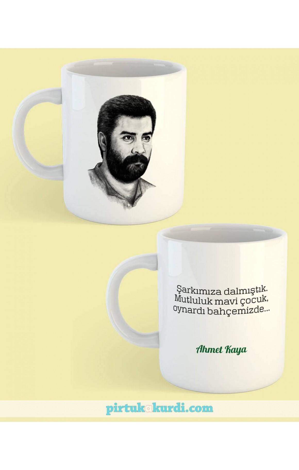 Porselen Kupa - Ahmet Kaya 2