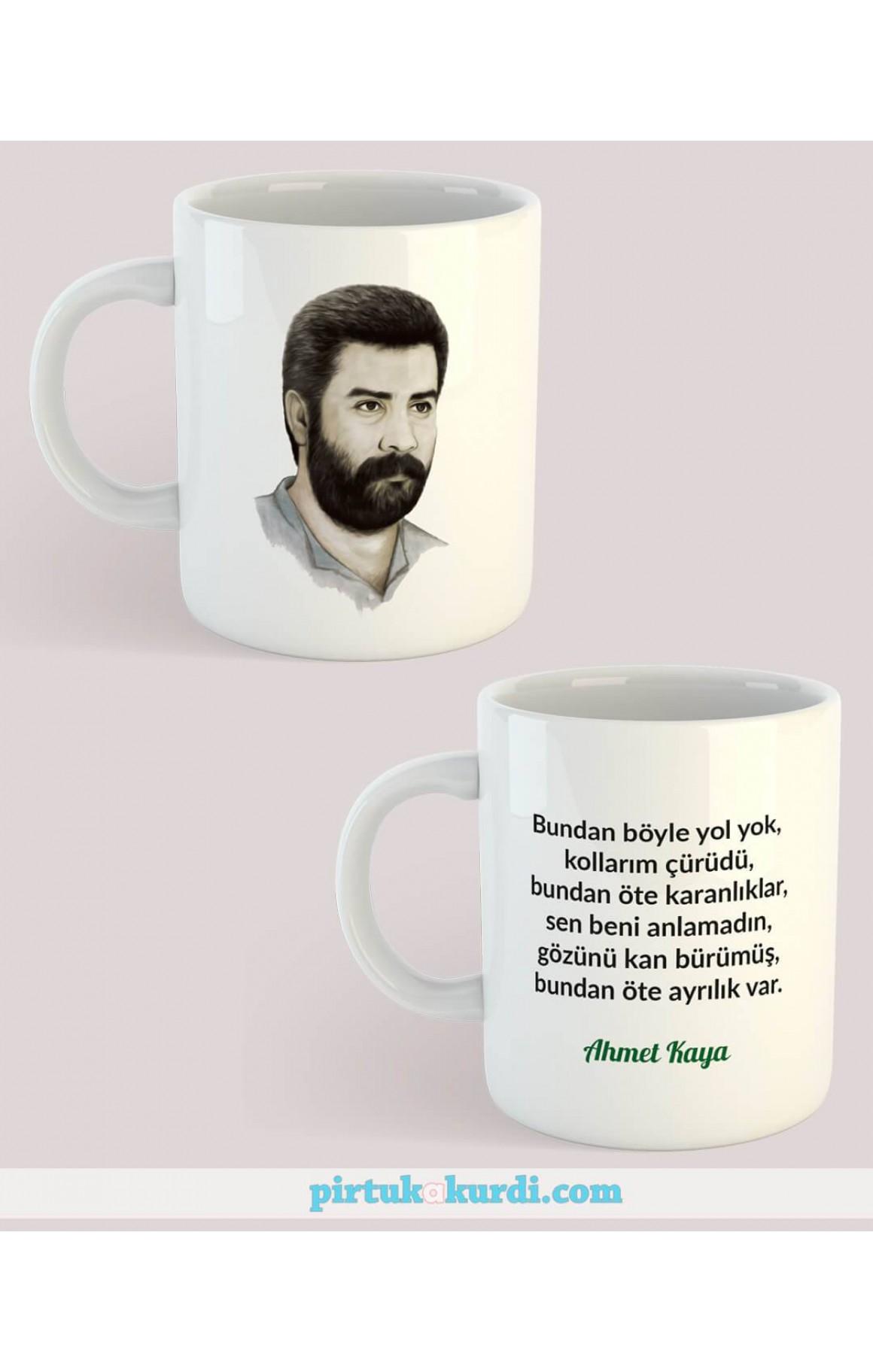 Porselen Kupa - Ahmet Kaya 4