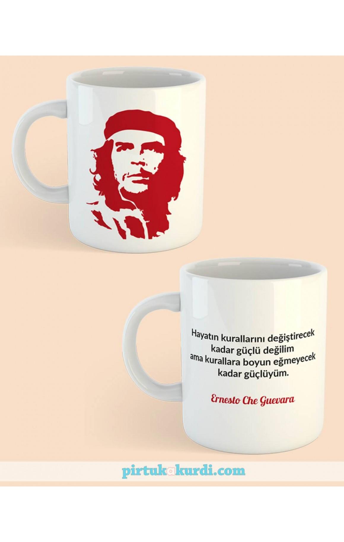 Porselen Kupa - Ernesto Che Guevara