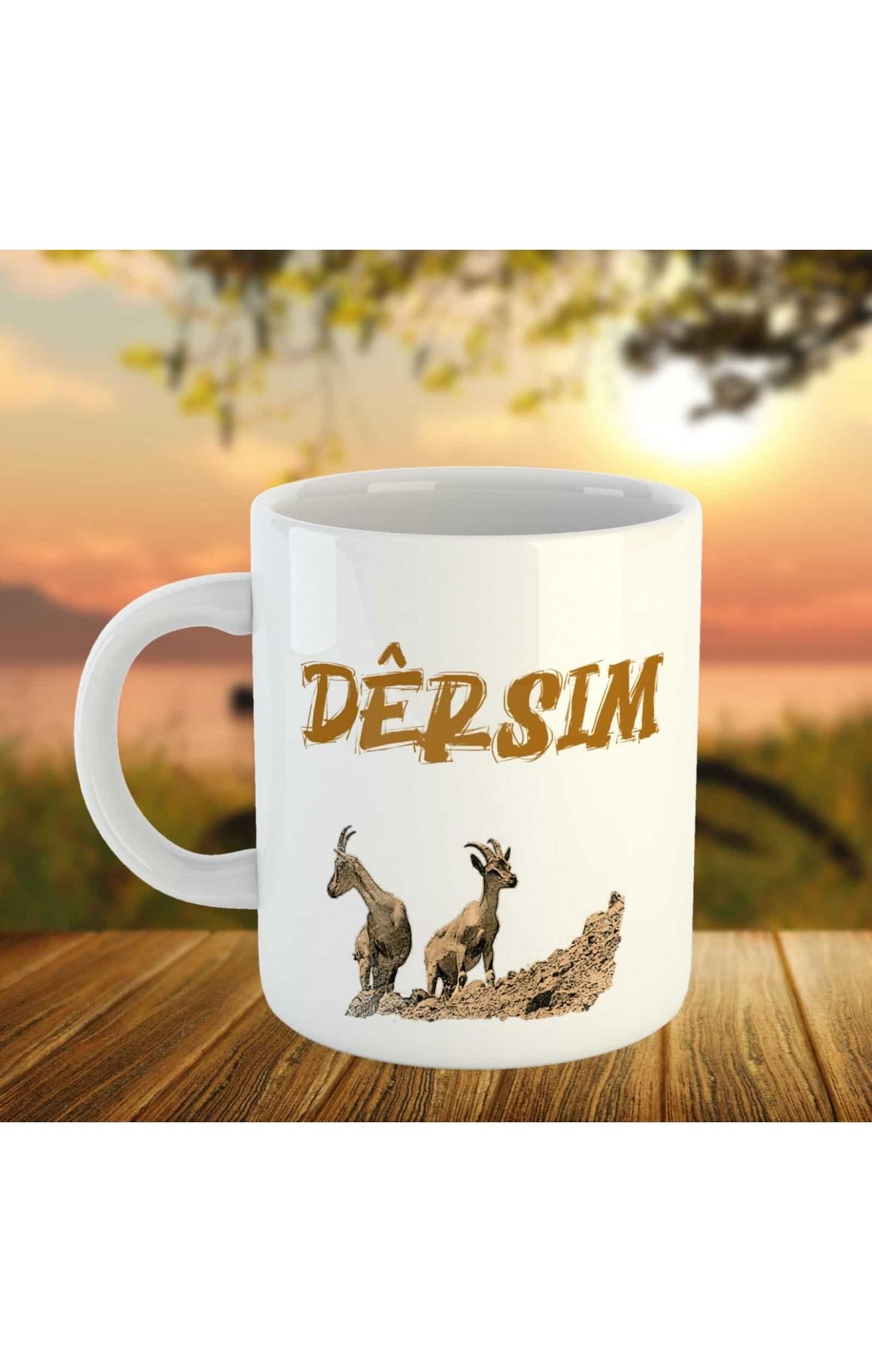 Dêrsim Kupası - Porselen Kupa