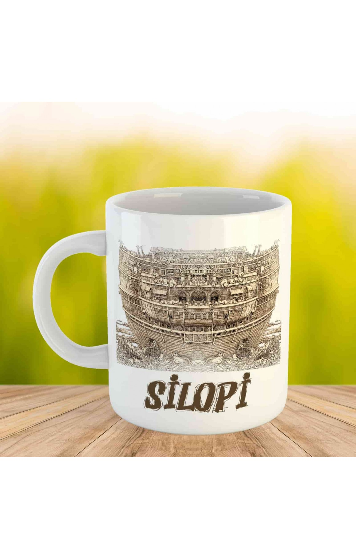 Silopi Kupası - Porselen Kupa