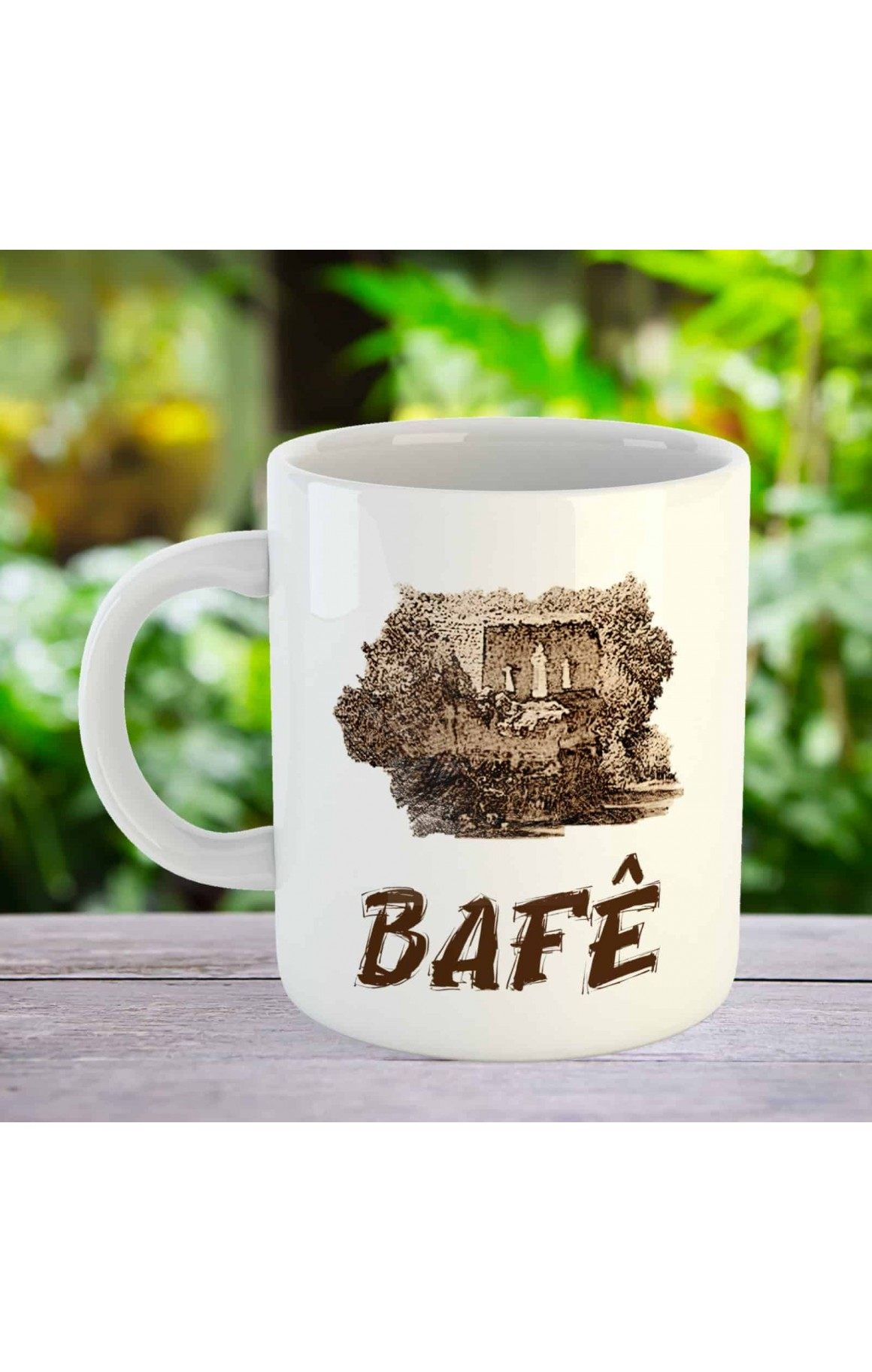 Bafê - Porselen Kupa