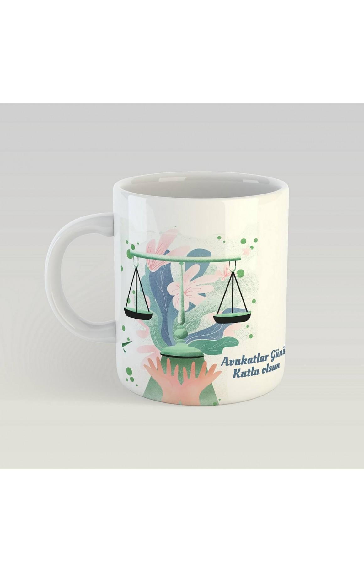 Avukatlar Günü Porselen Kupa