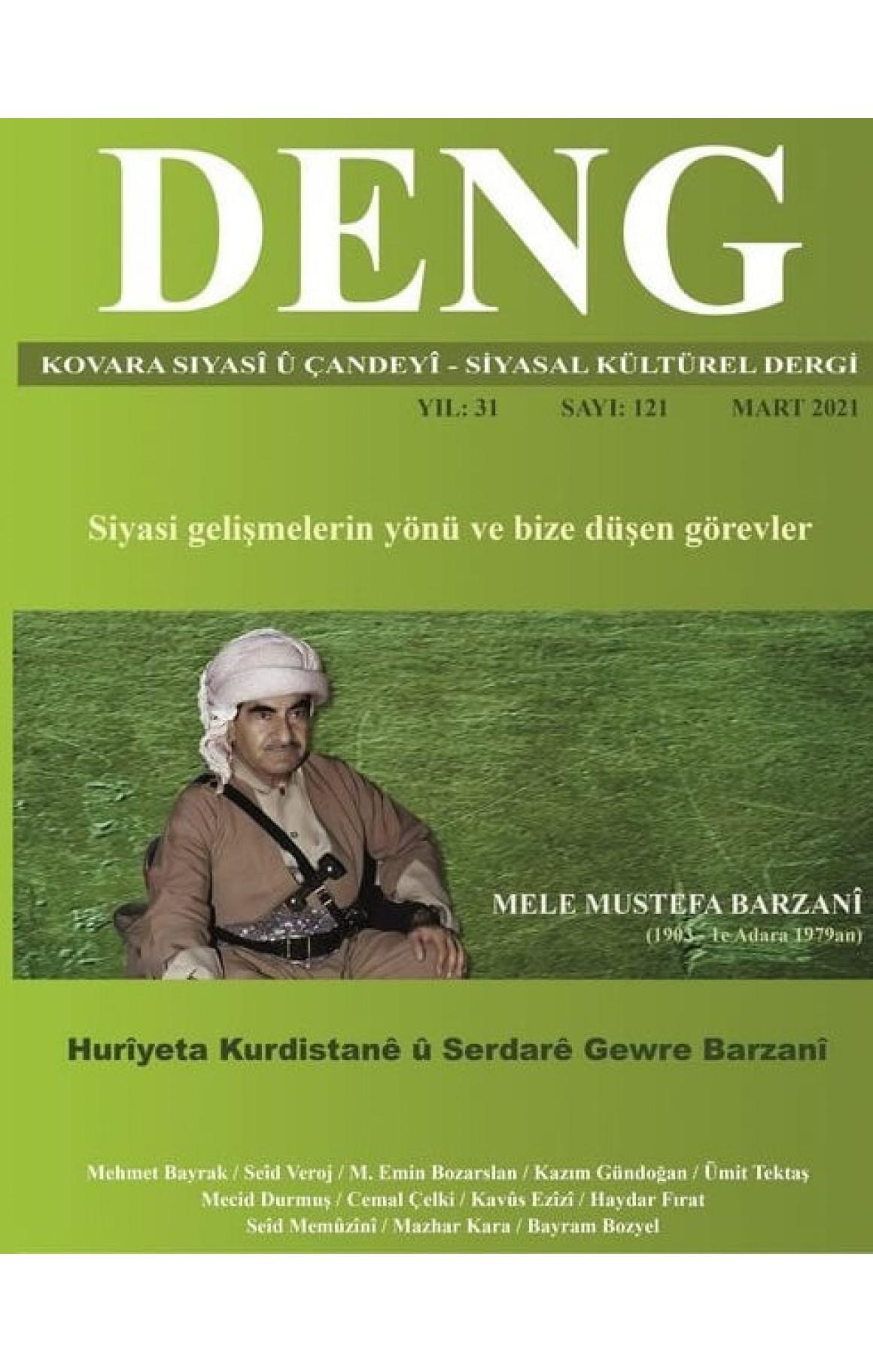 Deng Dergisi 121