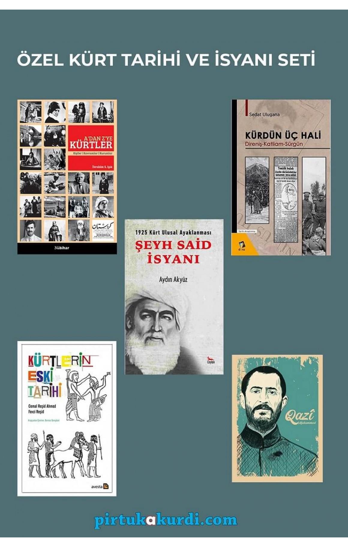 Özel Kürt Tarihi ve İsyanı Seti