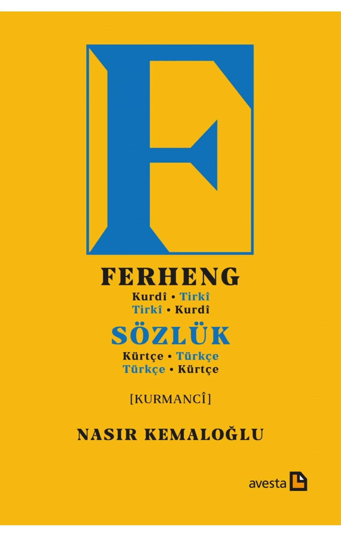 Sözlük (Kürtçe-Türkçe), Ferheng (Kurdî-Tirkî)
