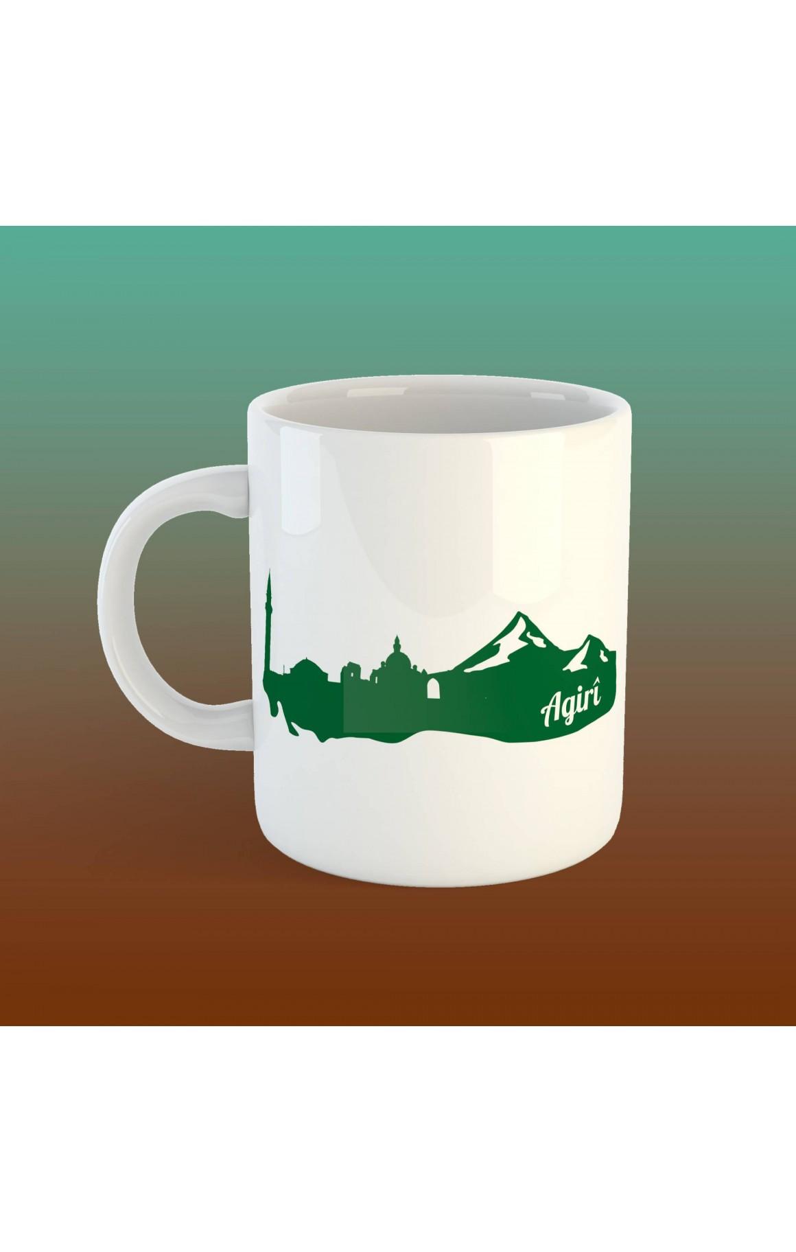 Porselen Kupa - Agirî