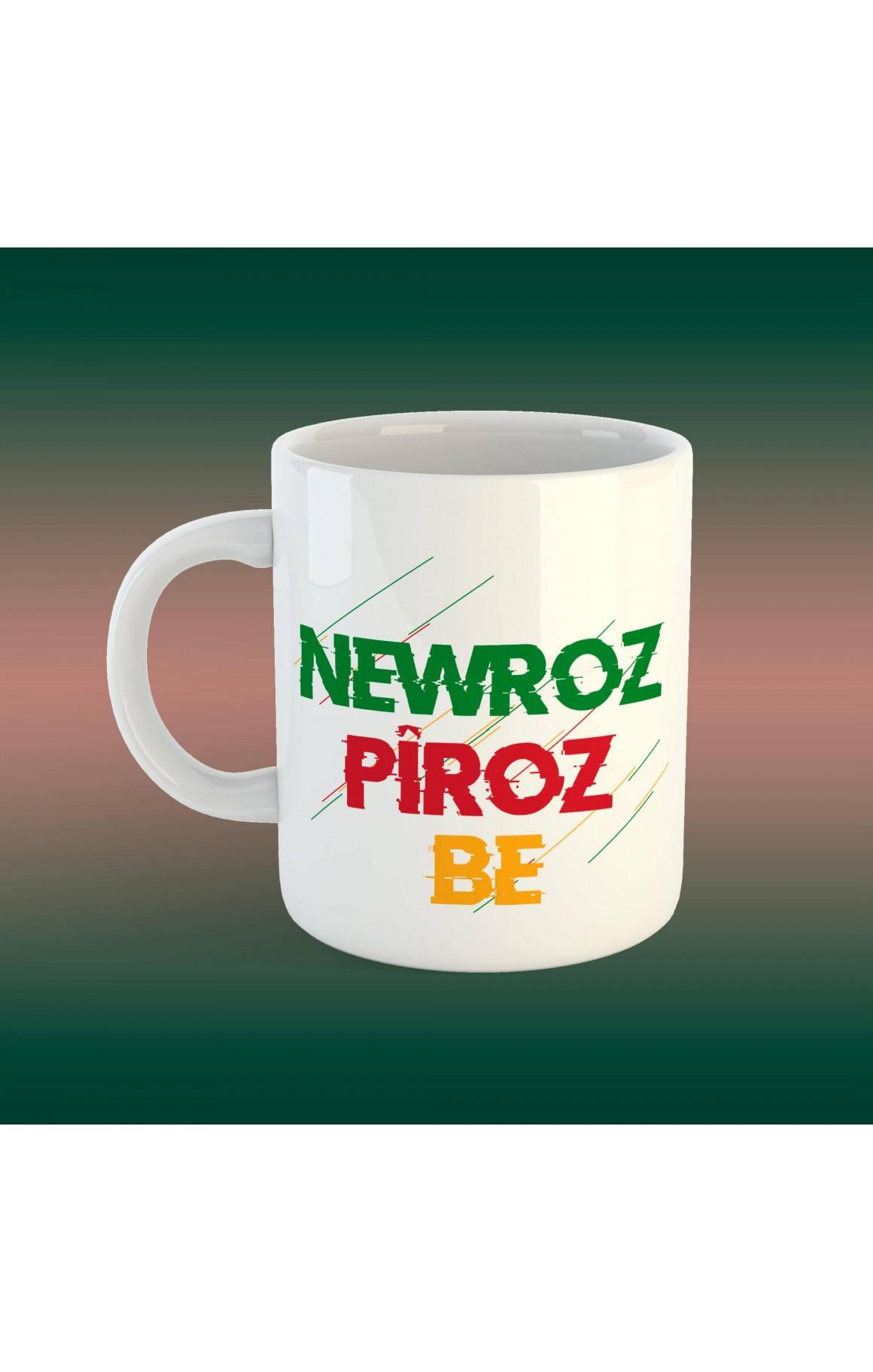 Porselen Kupa - Newroz 1
