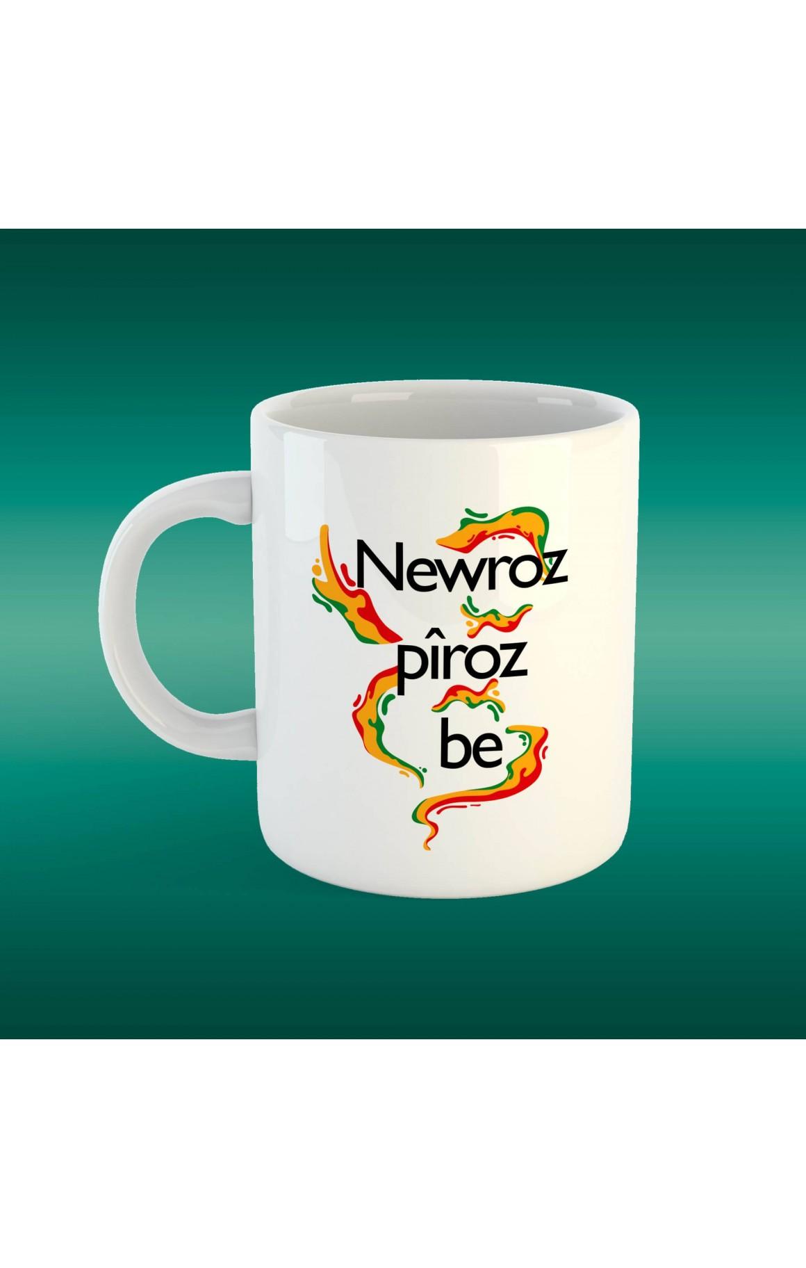 Porselen Kupa - Newroz 2