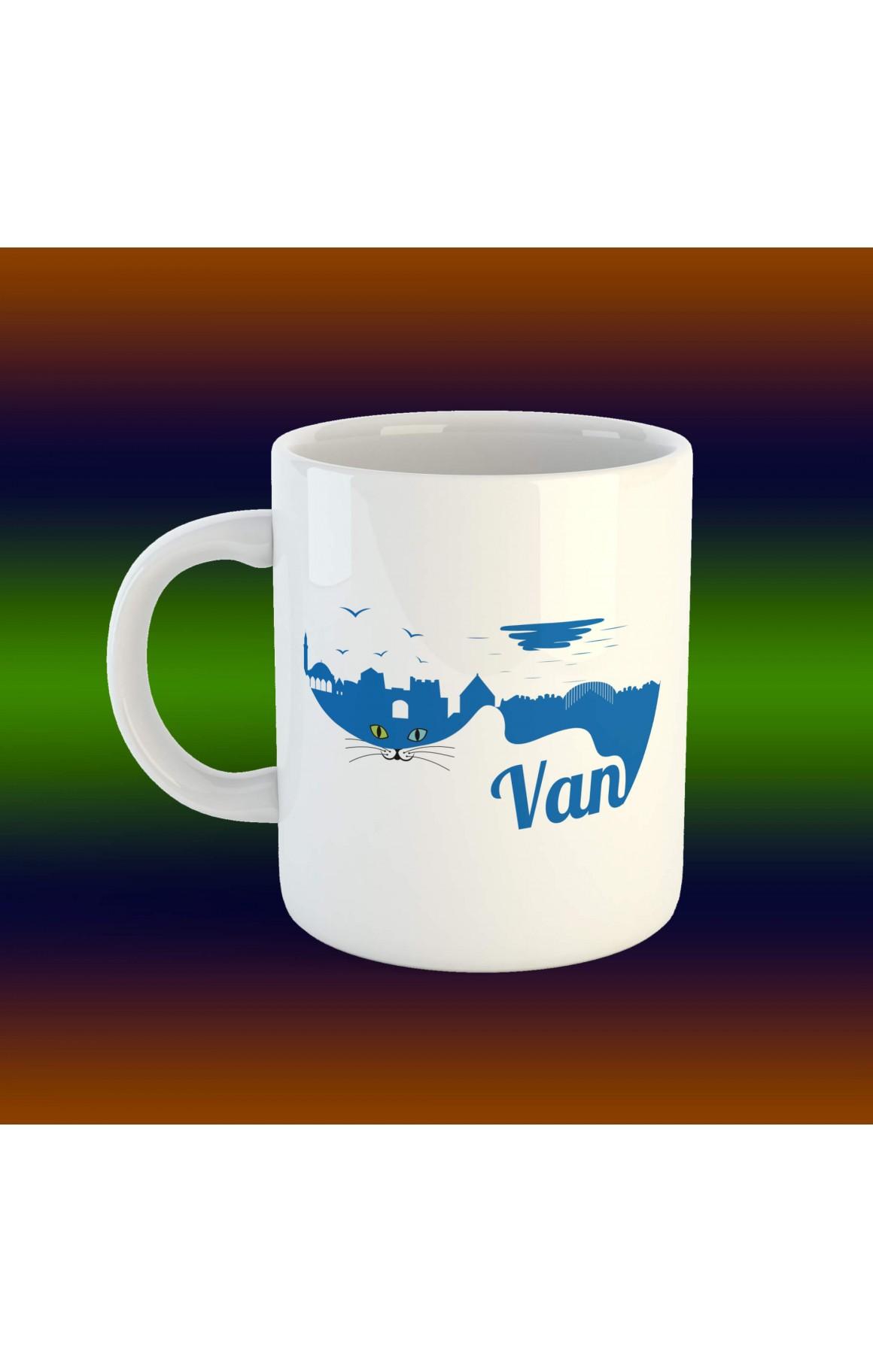 Porselen Kupa - Van