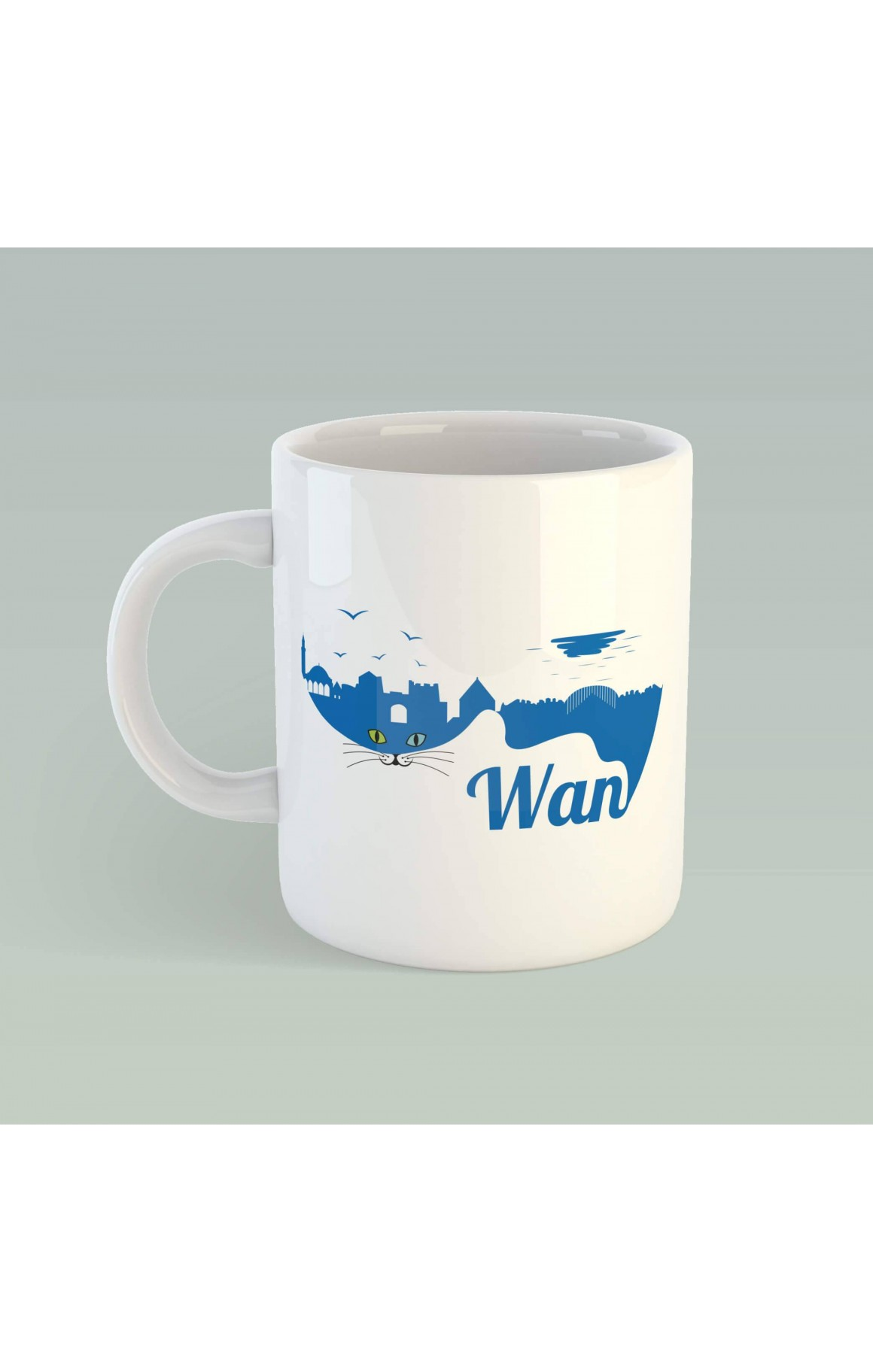 Porselen Kupa - Wan