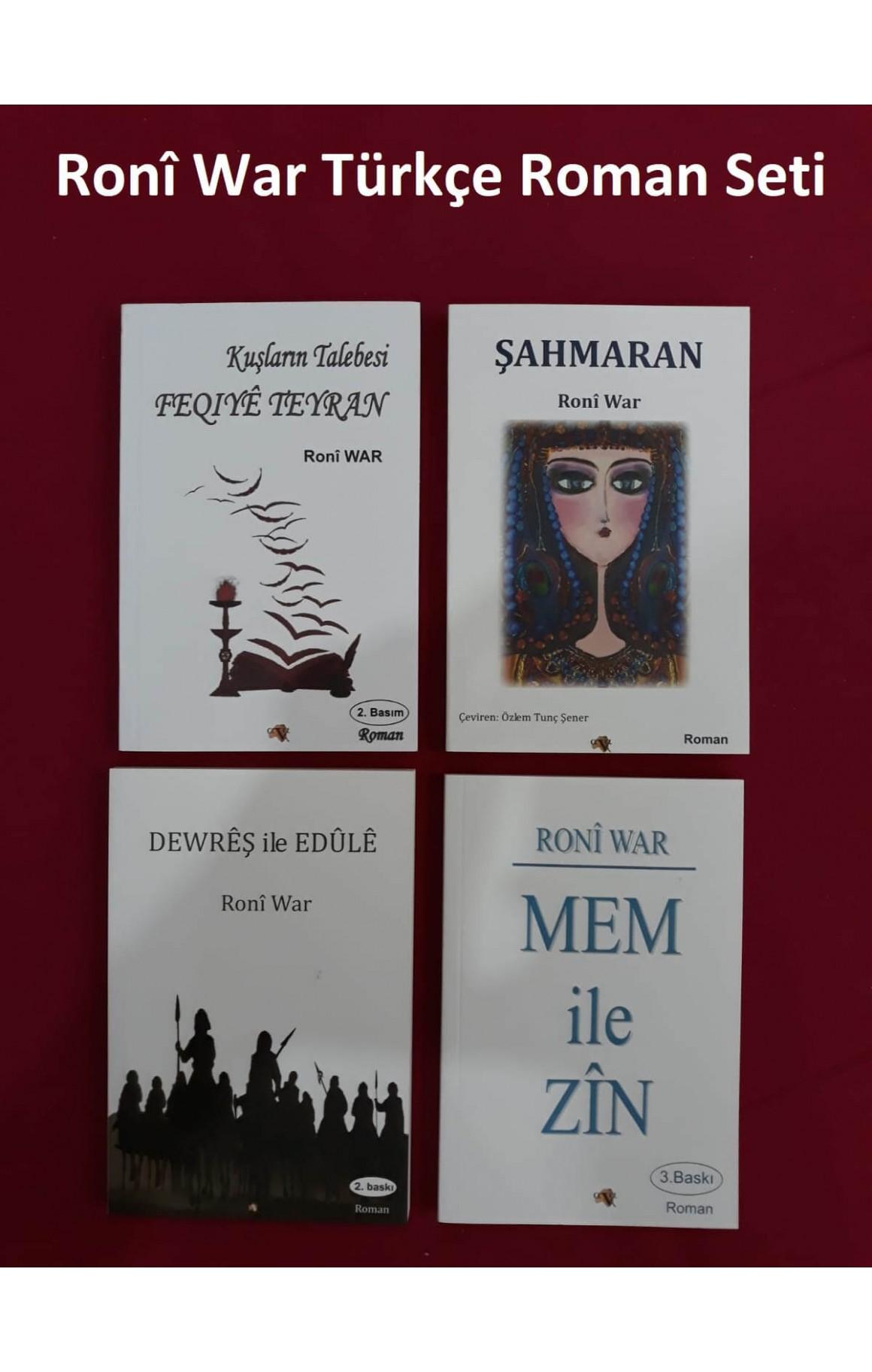 Ronî War Türkçe Roman Seti