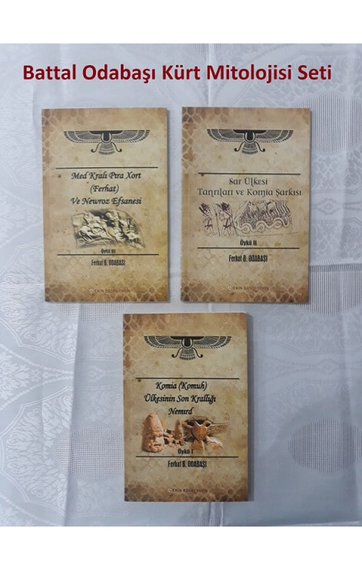 Battal Odabaşı Kürt Mitolojisi Seti