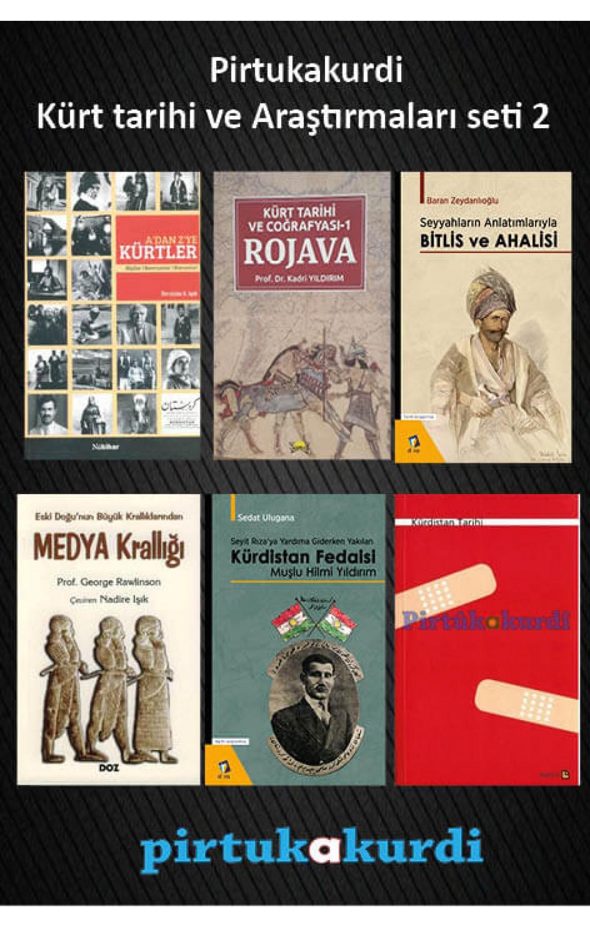 Pirtukakurdi Kürt Tarihi ve Araştırmaları Seti 2
