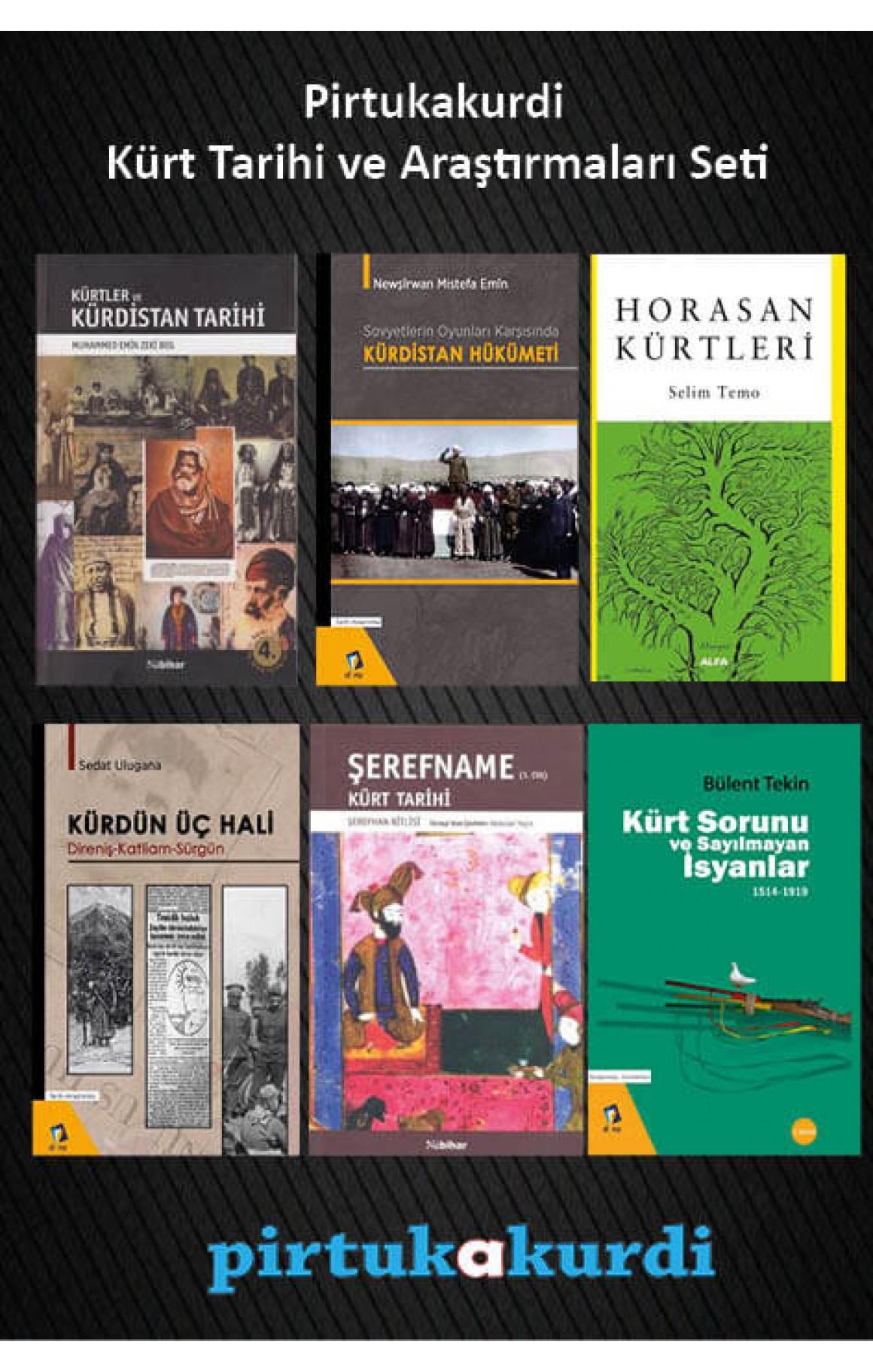 Pirtukakurdi Kürt Tarihi ve Araştırmaları Seti