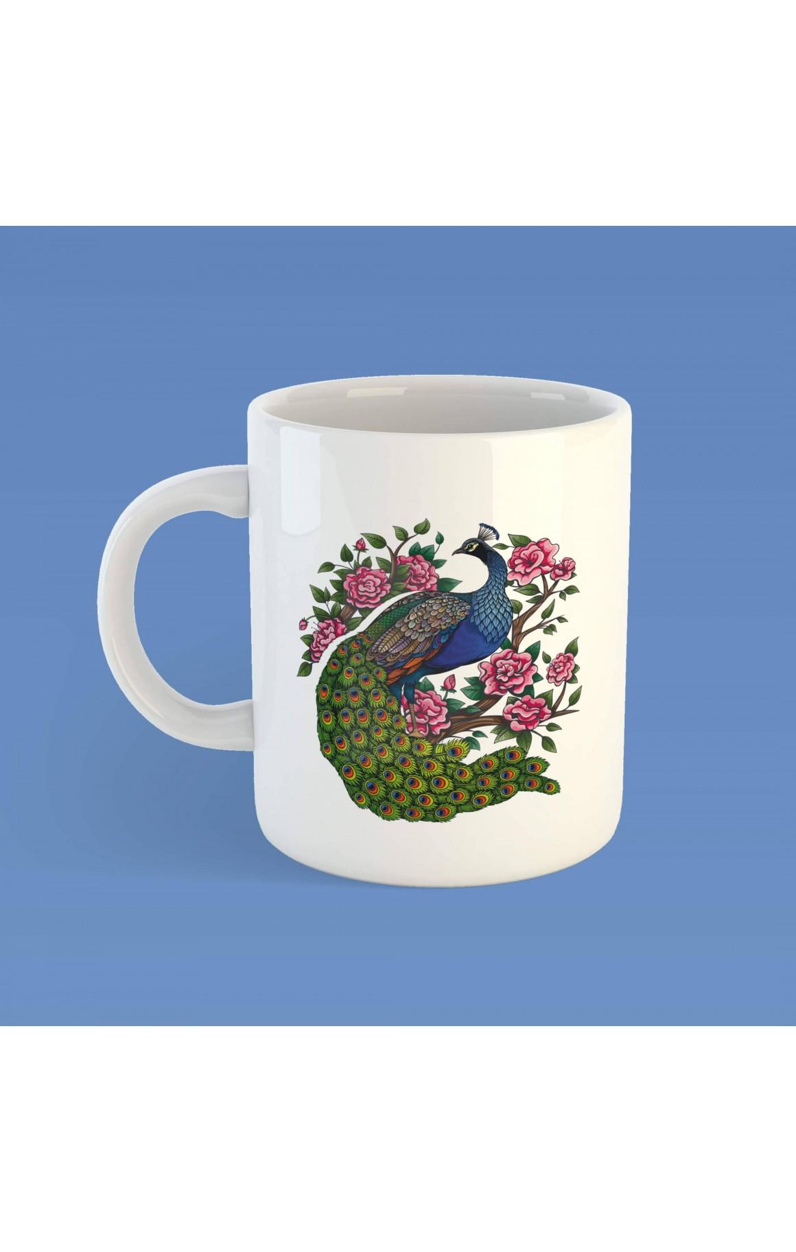 Porselen Kupa - Melekê Tawis