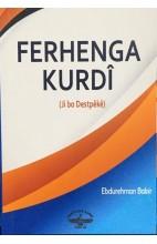 Ferhenga Kurdî (ji bo destpêkê)