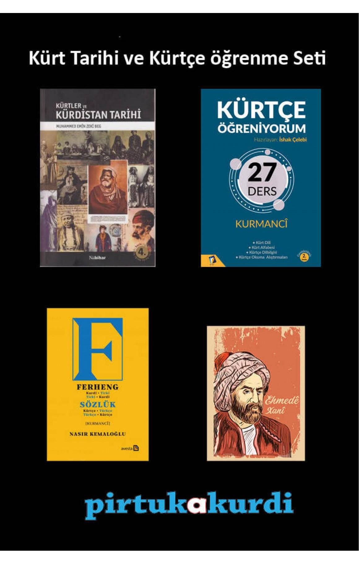 Kürt Tarihi ve Kürtçe Öğrenme Seti