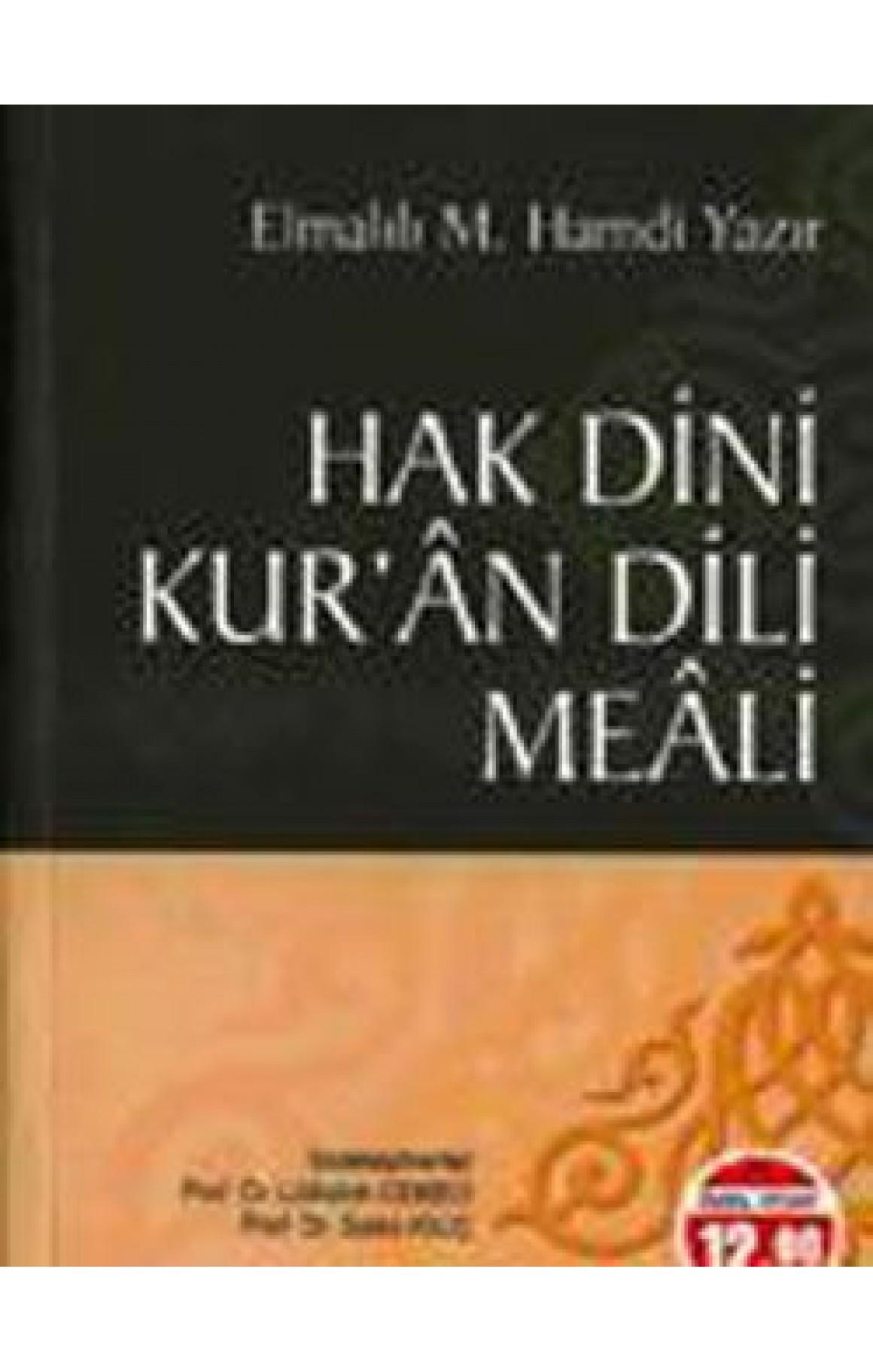 Hak Dini Kuran Dili Meali