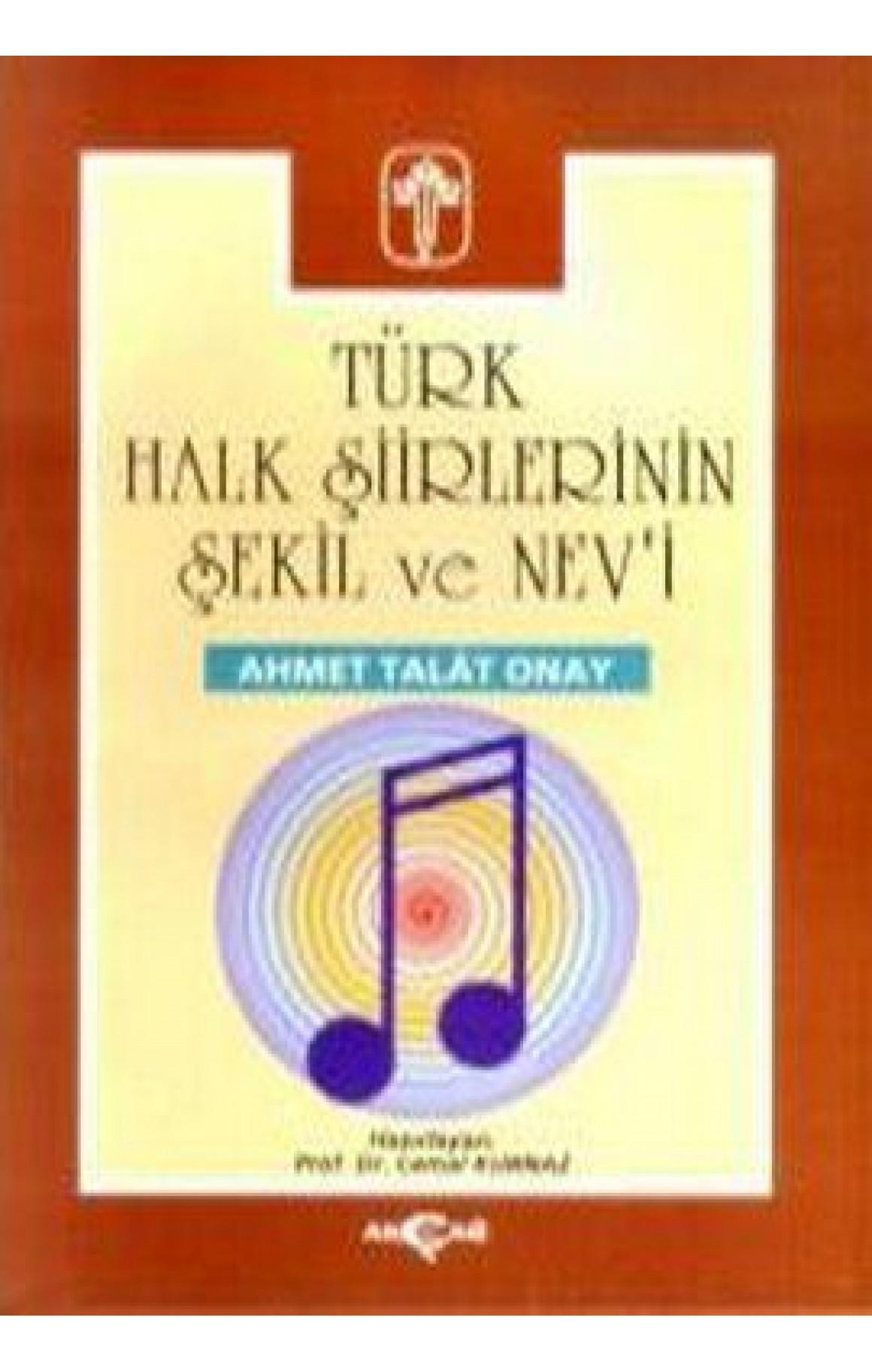 Türk Halk Şiirlerinin Şekil ve Nevi