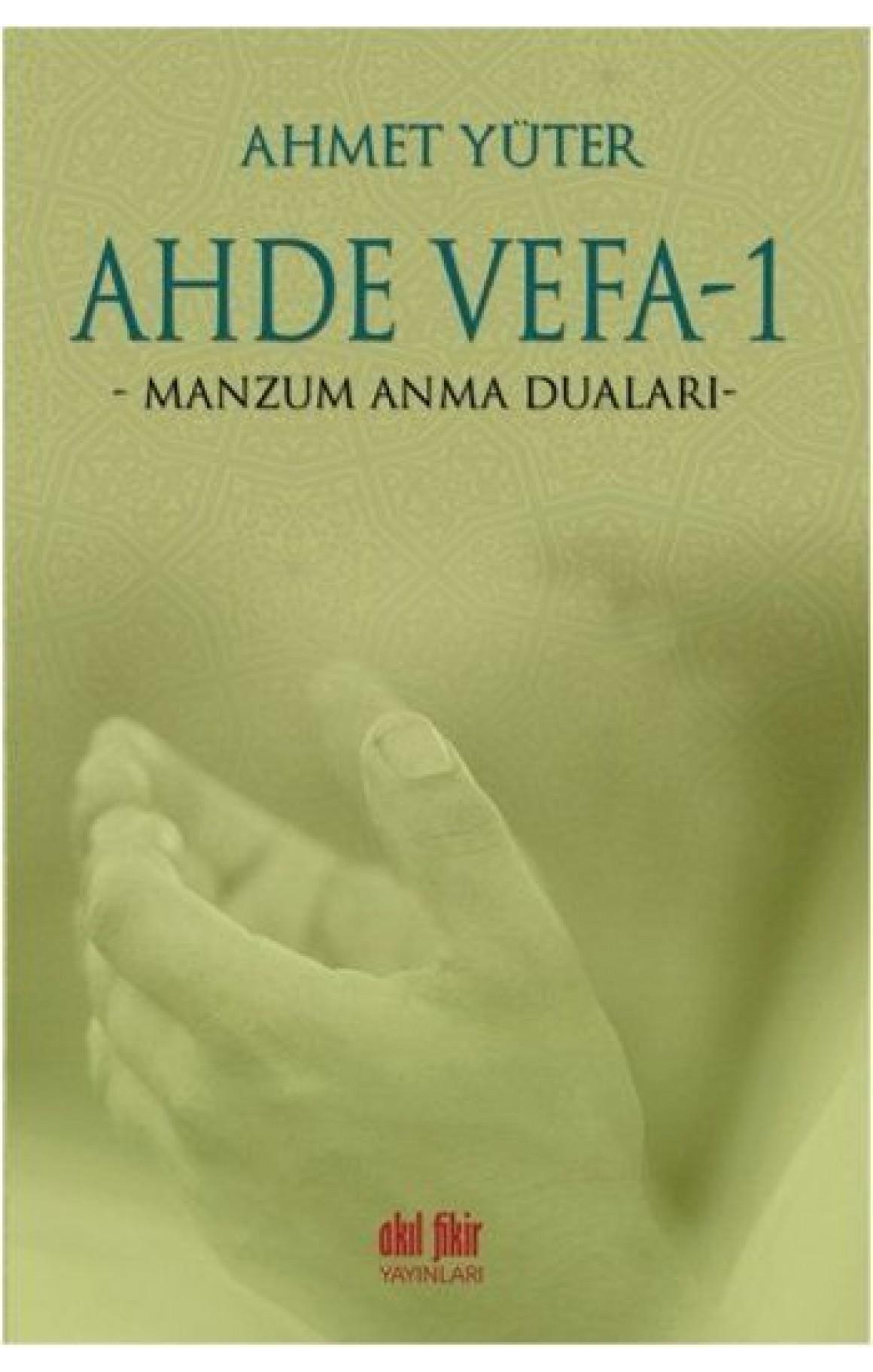 Ahde Vefa -1