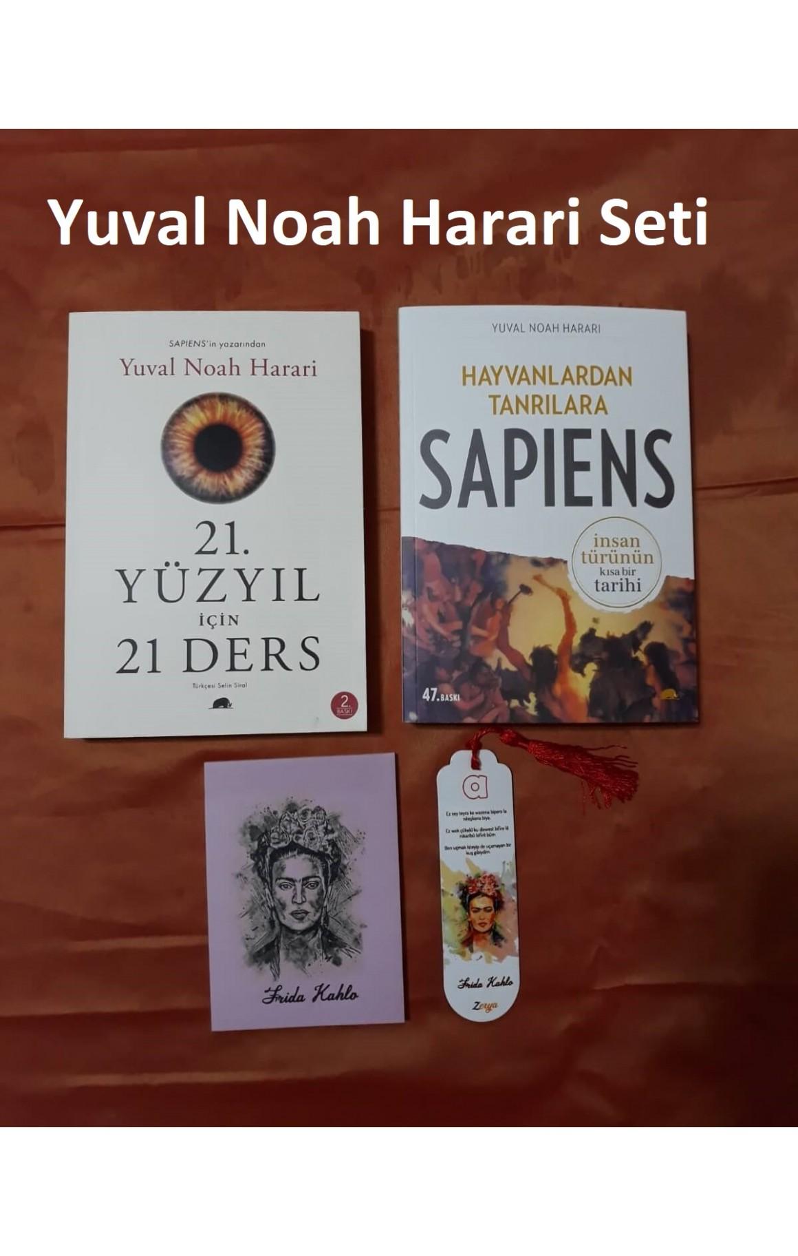 Yuval Noah Harari Seti (defter+ayraç)