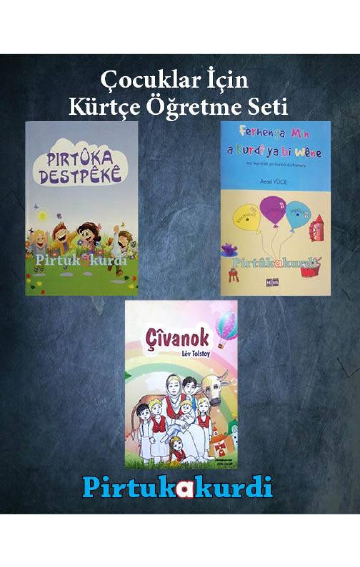 Çocuklar İçin Kürtçe Öğretme Seti