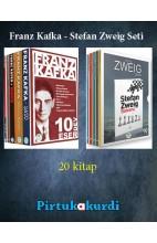 Franz Kafka - Stefan Zweig Seti (20 Kitap)