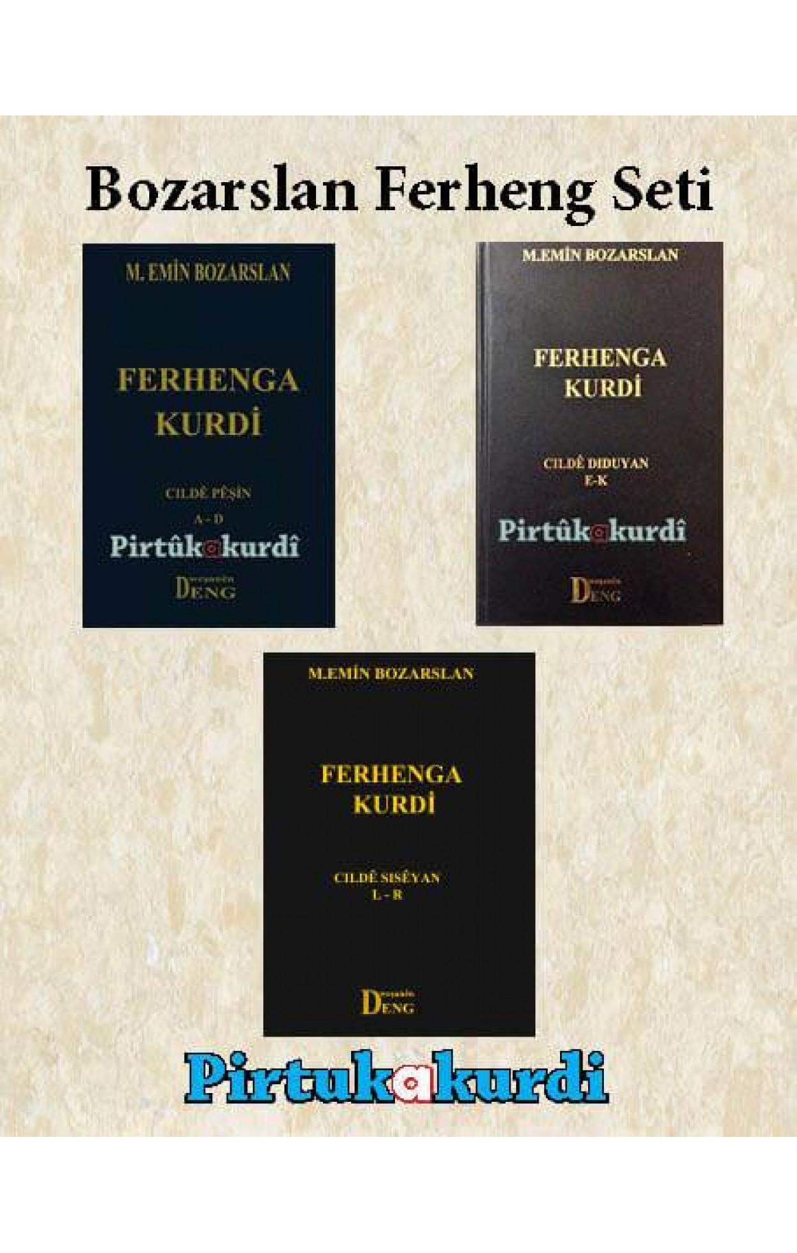Mehmet Emin Bozarslan Ferheng Seti