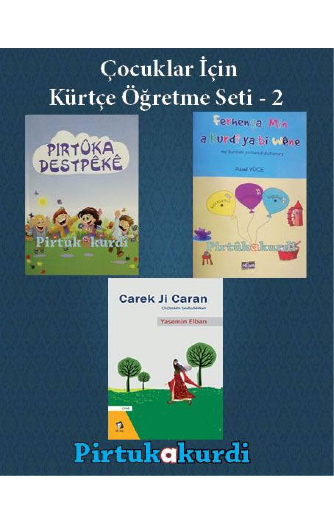 Çocuklar İçin Kürtçe Öğretme Seti - 2
