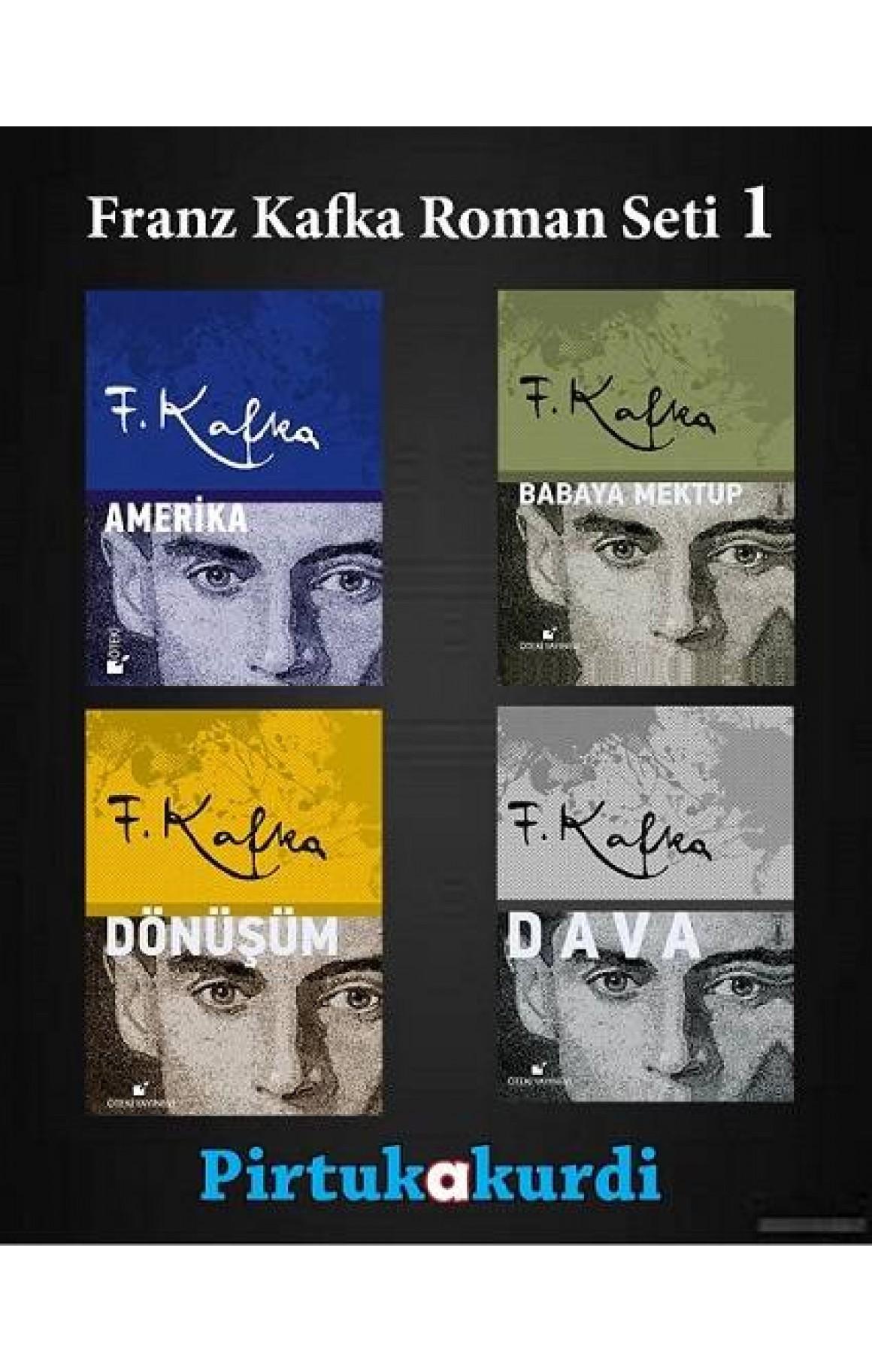 Franz Kafka Roman Seti 1 (ciltli)