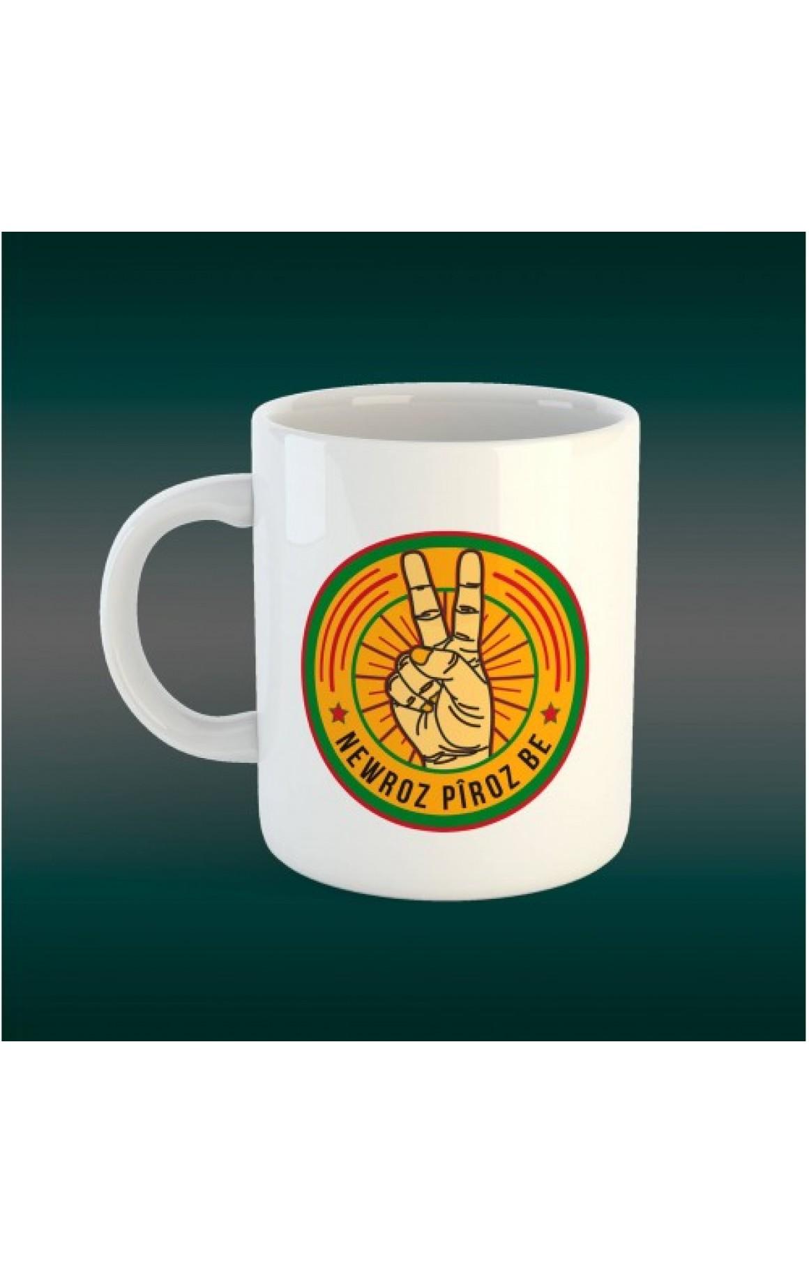 Porselen Kupa - Newroz 3
