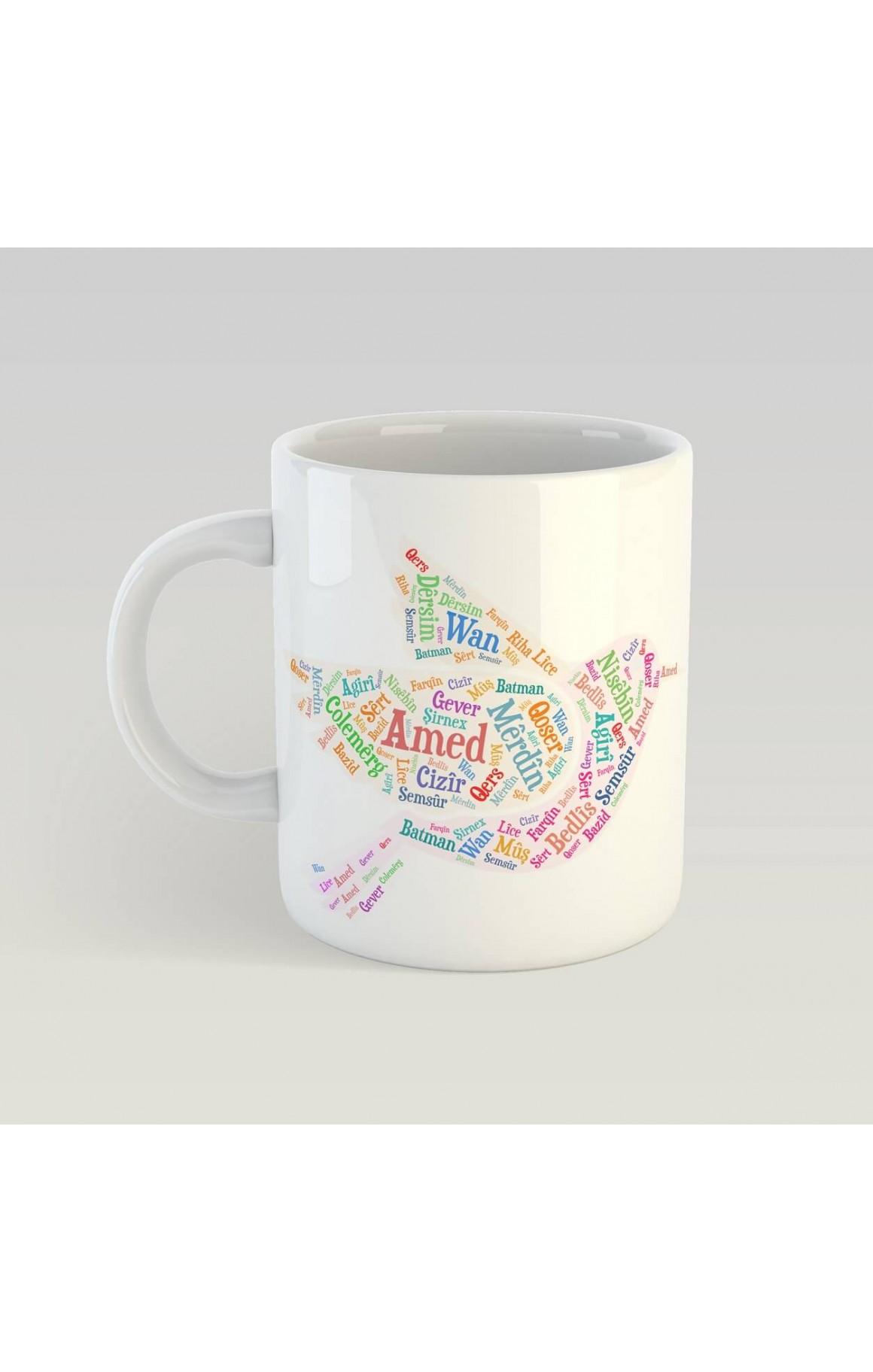 Porselen Kupa - Bajar - kevok