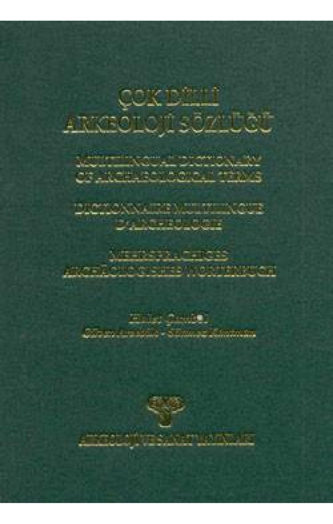 Çok Dilli Arkeoloji Sözlüğü