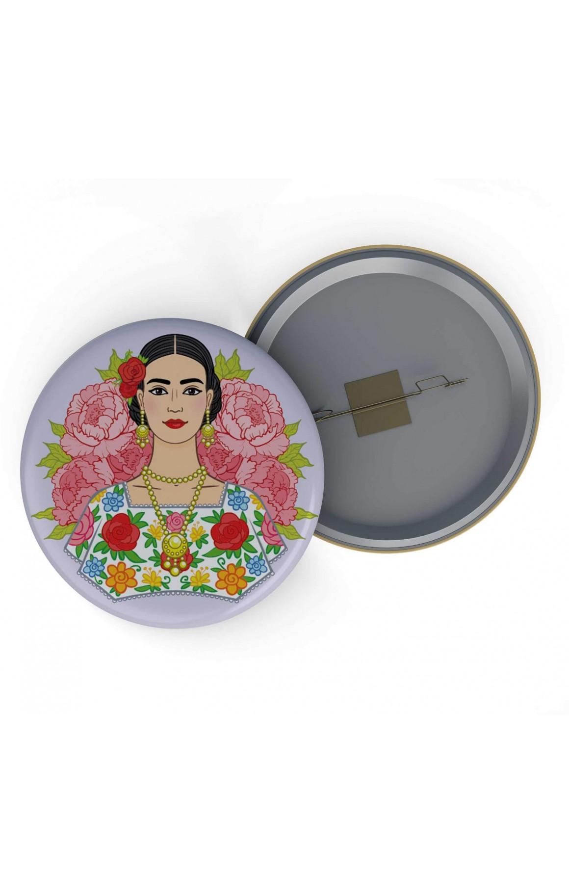 Rozet - Frida Kahlo