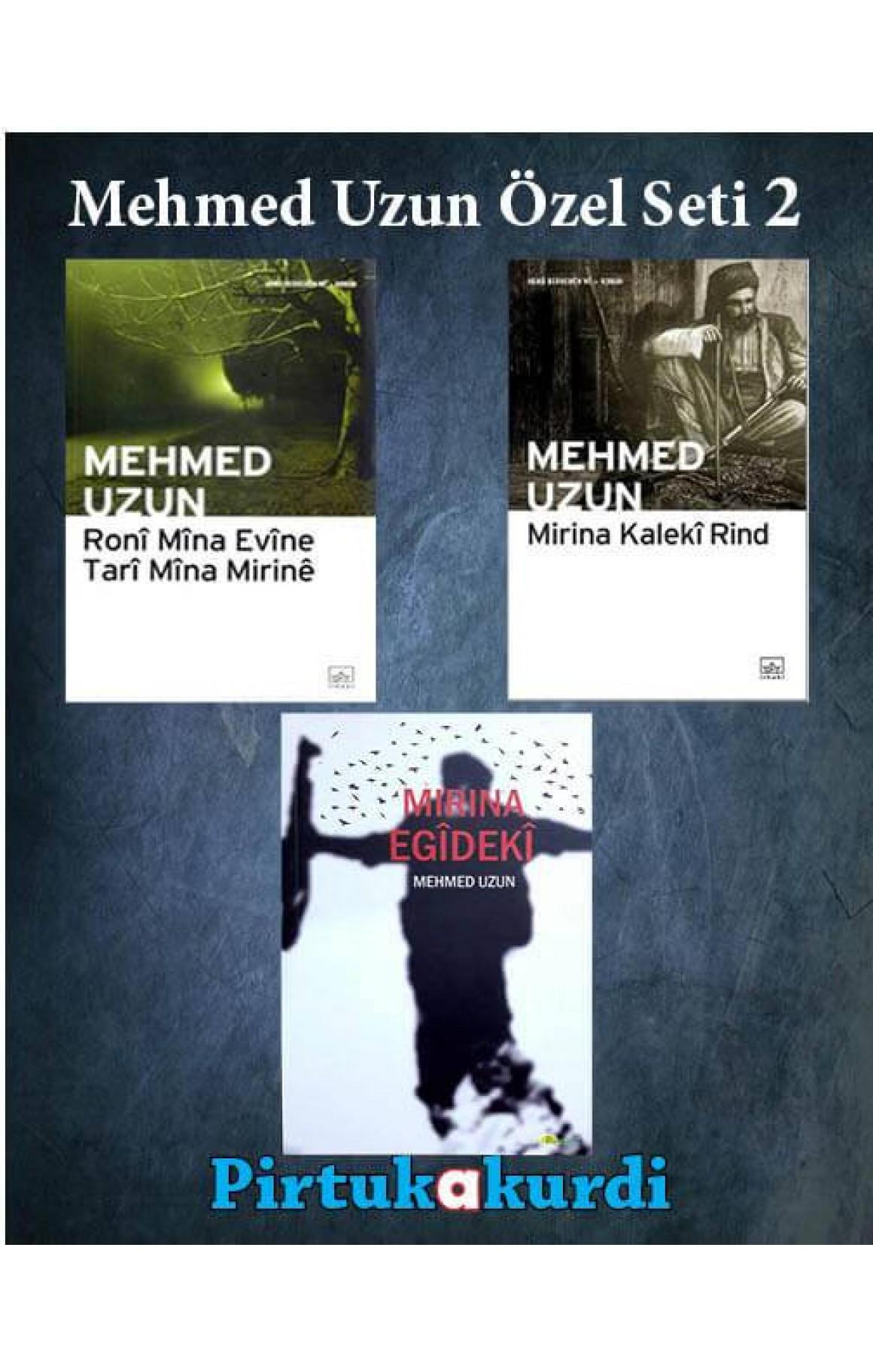 Mehmed Uzun Roman Şiir Seti