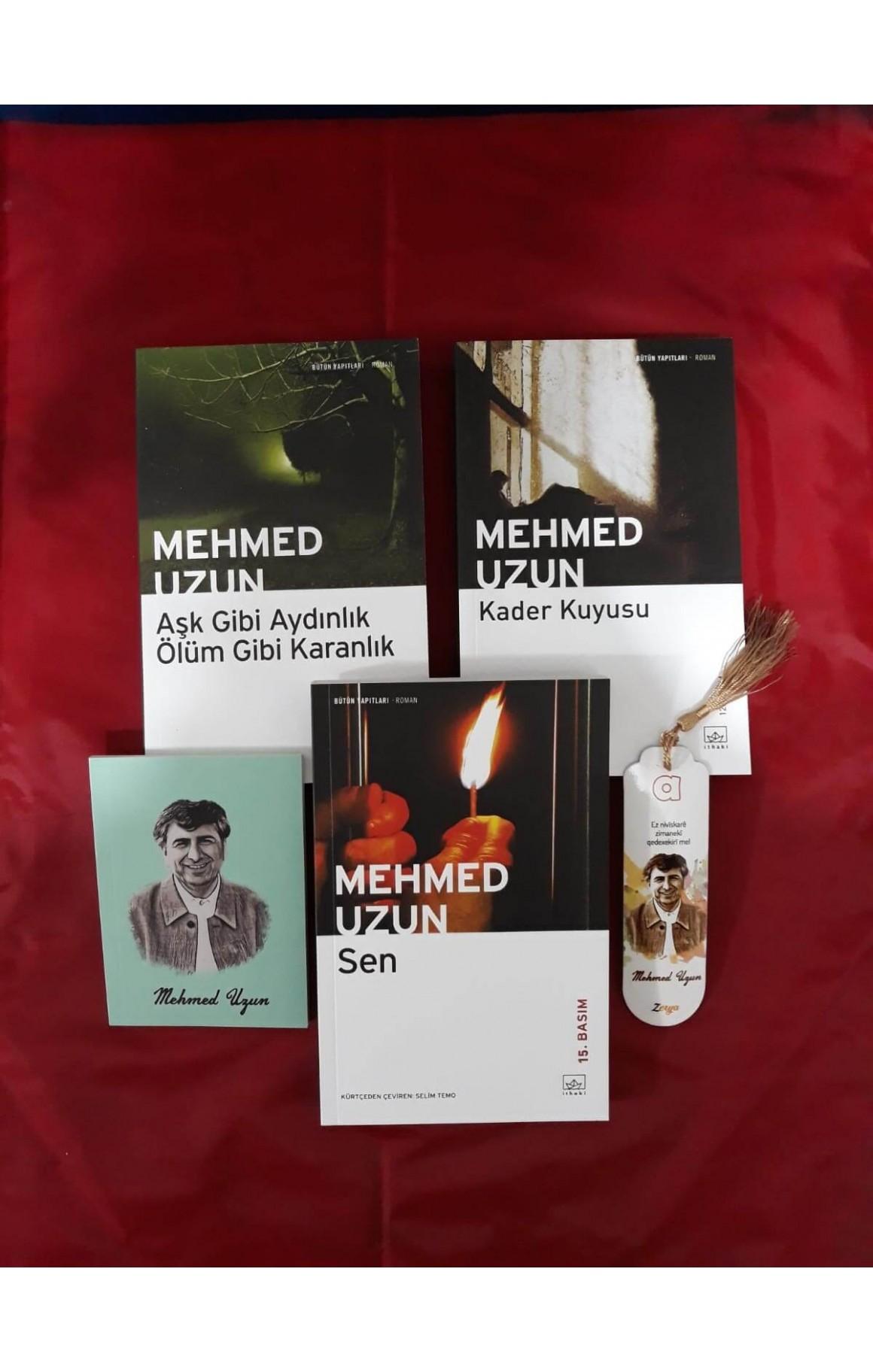 Mehmed Uzun 3 lü Türkçe Roman Seti (defter+ayraç)
