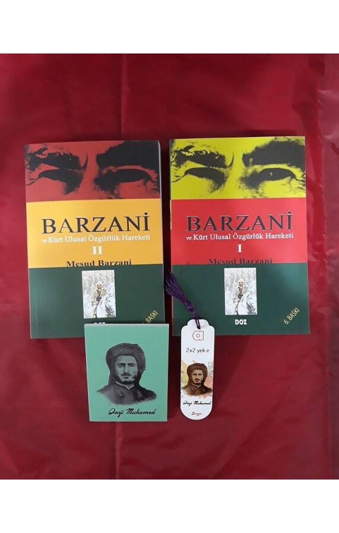 Barzani ve Kürt Ulusal Özgürlük Hareketi Seti (defter+ayraç)