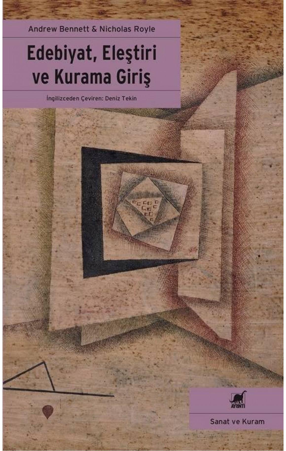 Edebiyat Eleştiri ve Kurama Giriş