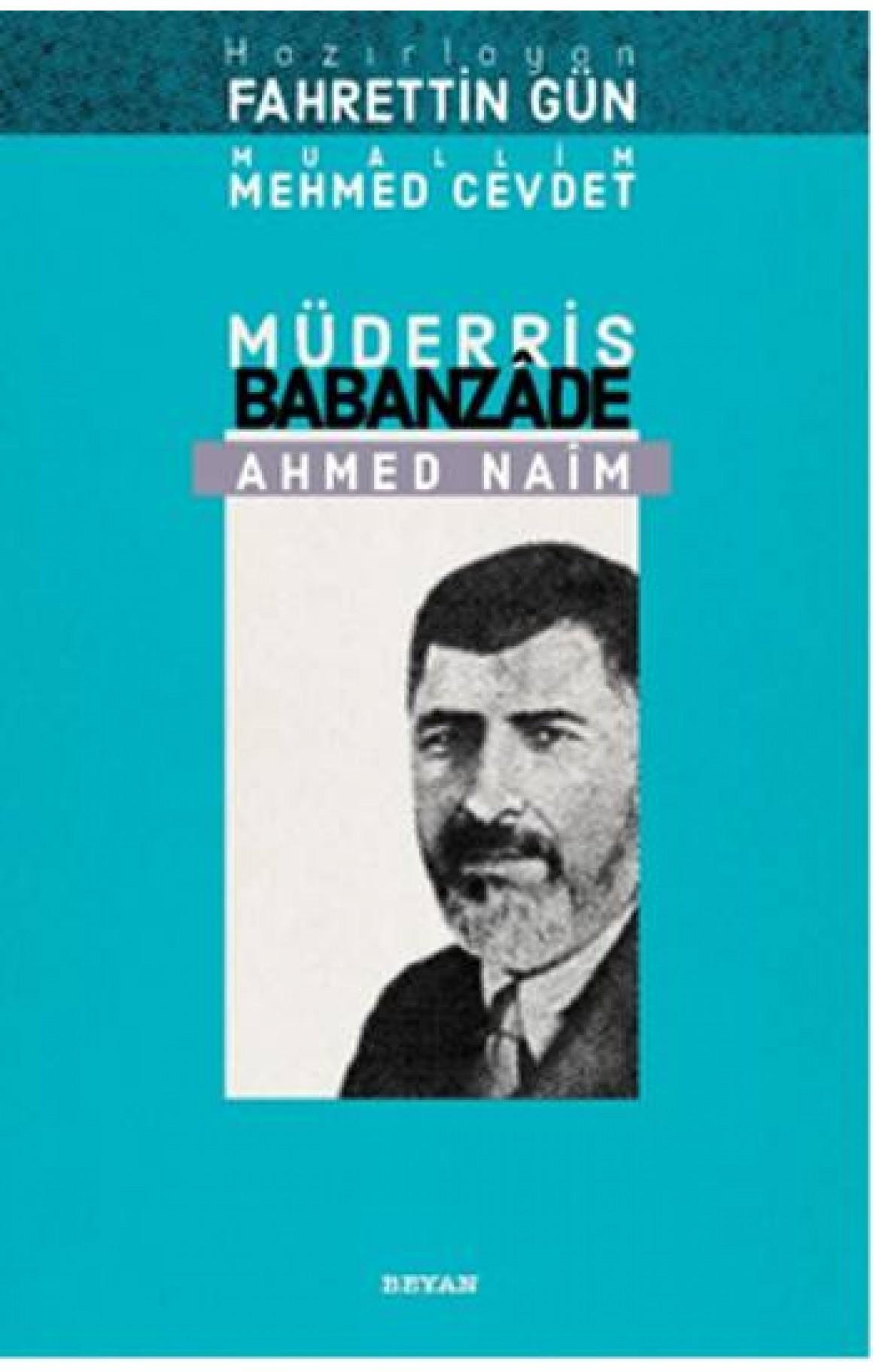 Müderris Babanzade Ahmet Naim