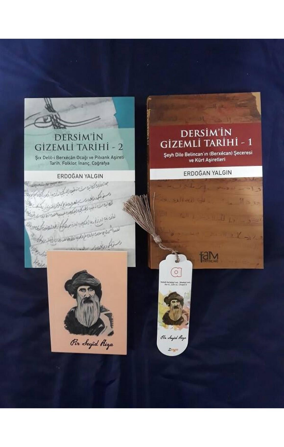 Dersim'in Gizemli Tarihi Seti (defter+ayraç)