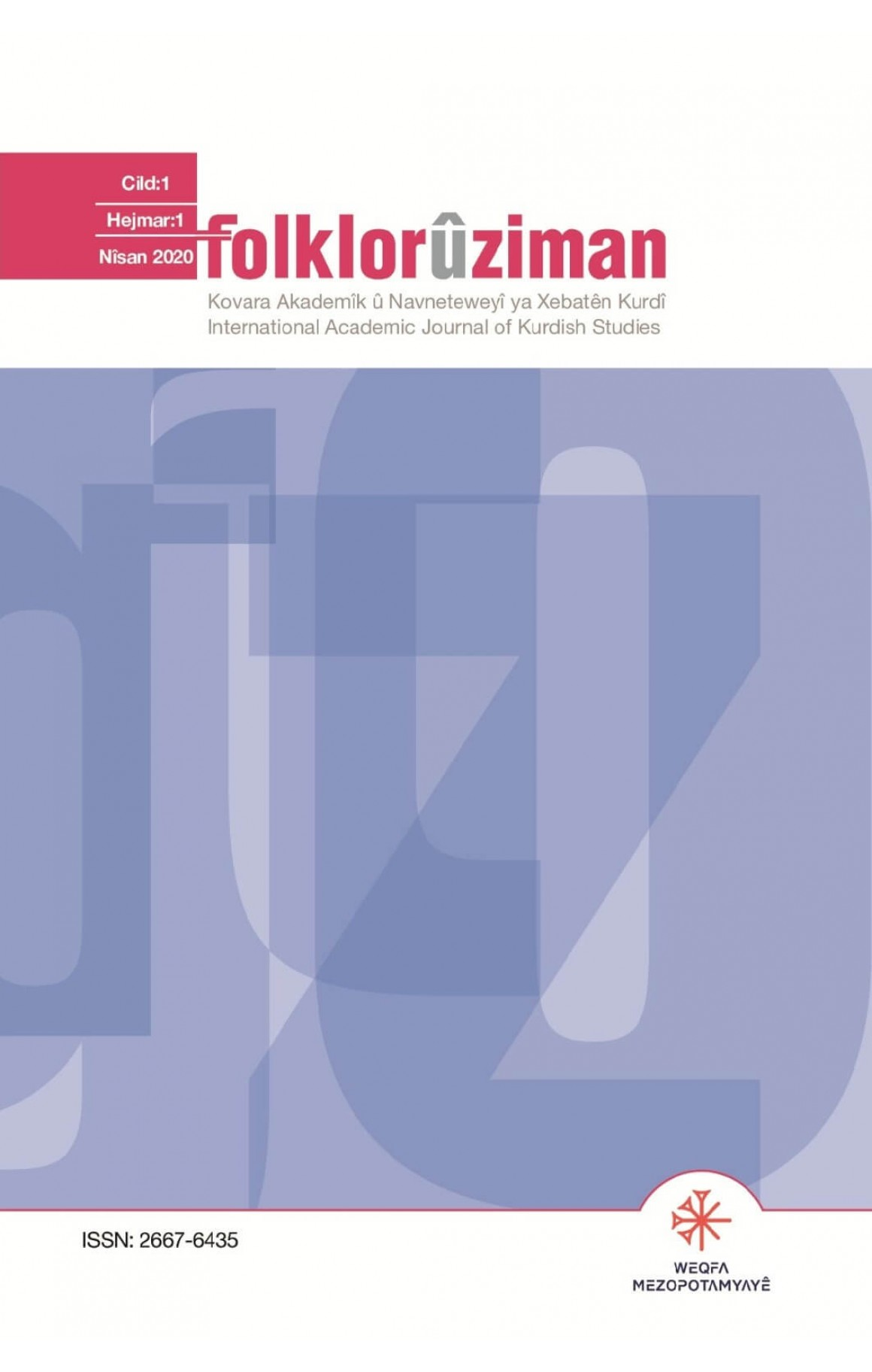Folklor û Ziman 1
