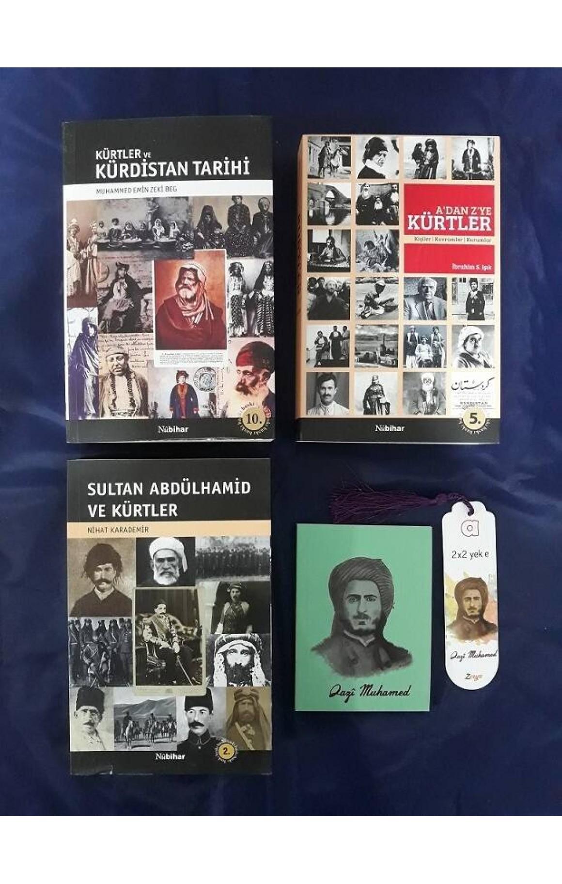 Nûbihar Kürt Tarihi ve Araştırmaları Seti (defter+ayraç)