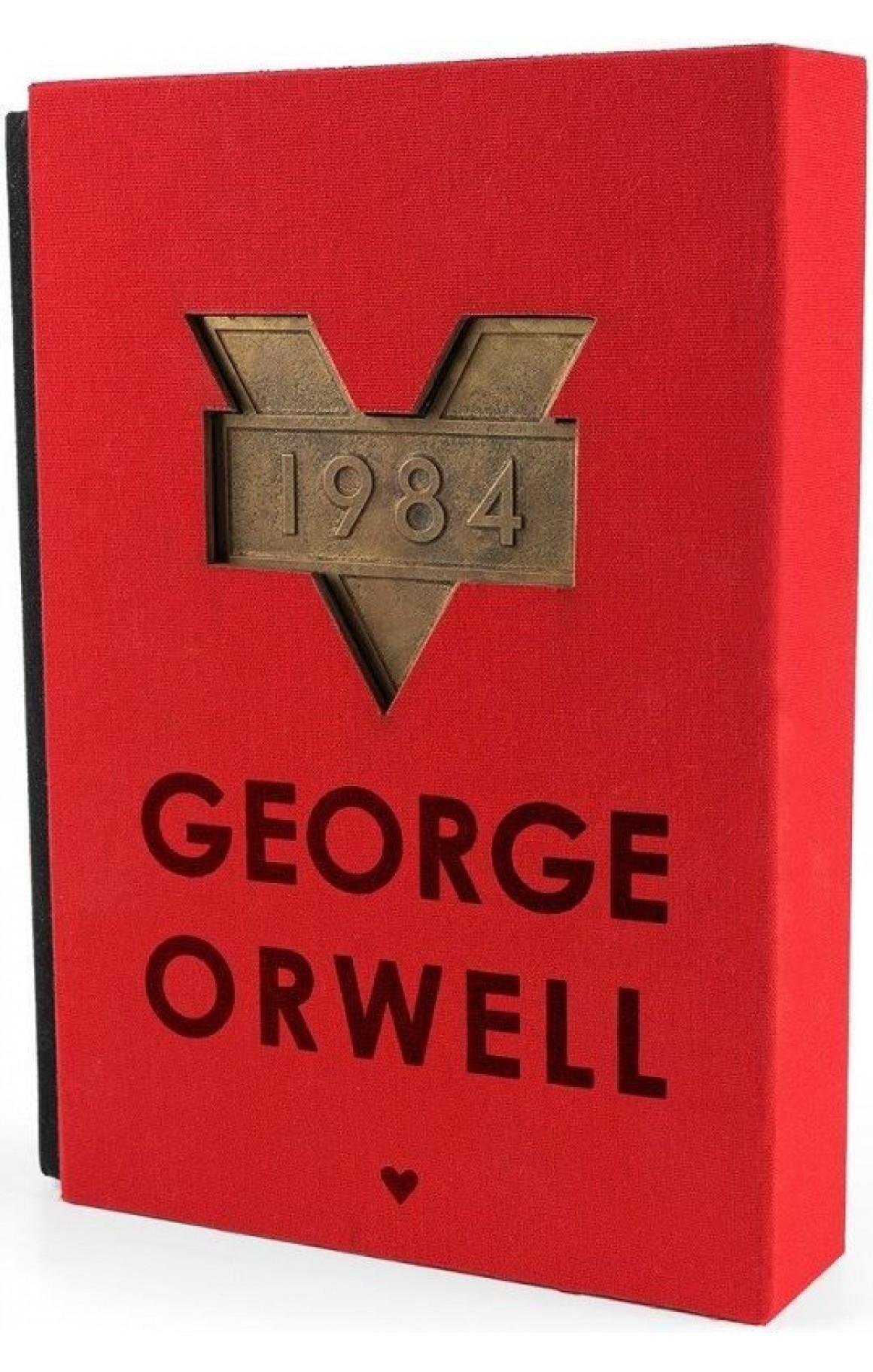 1984 Kırmızı Kutulu Özel Baskı (Ciltli)