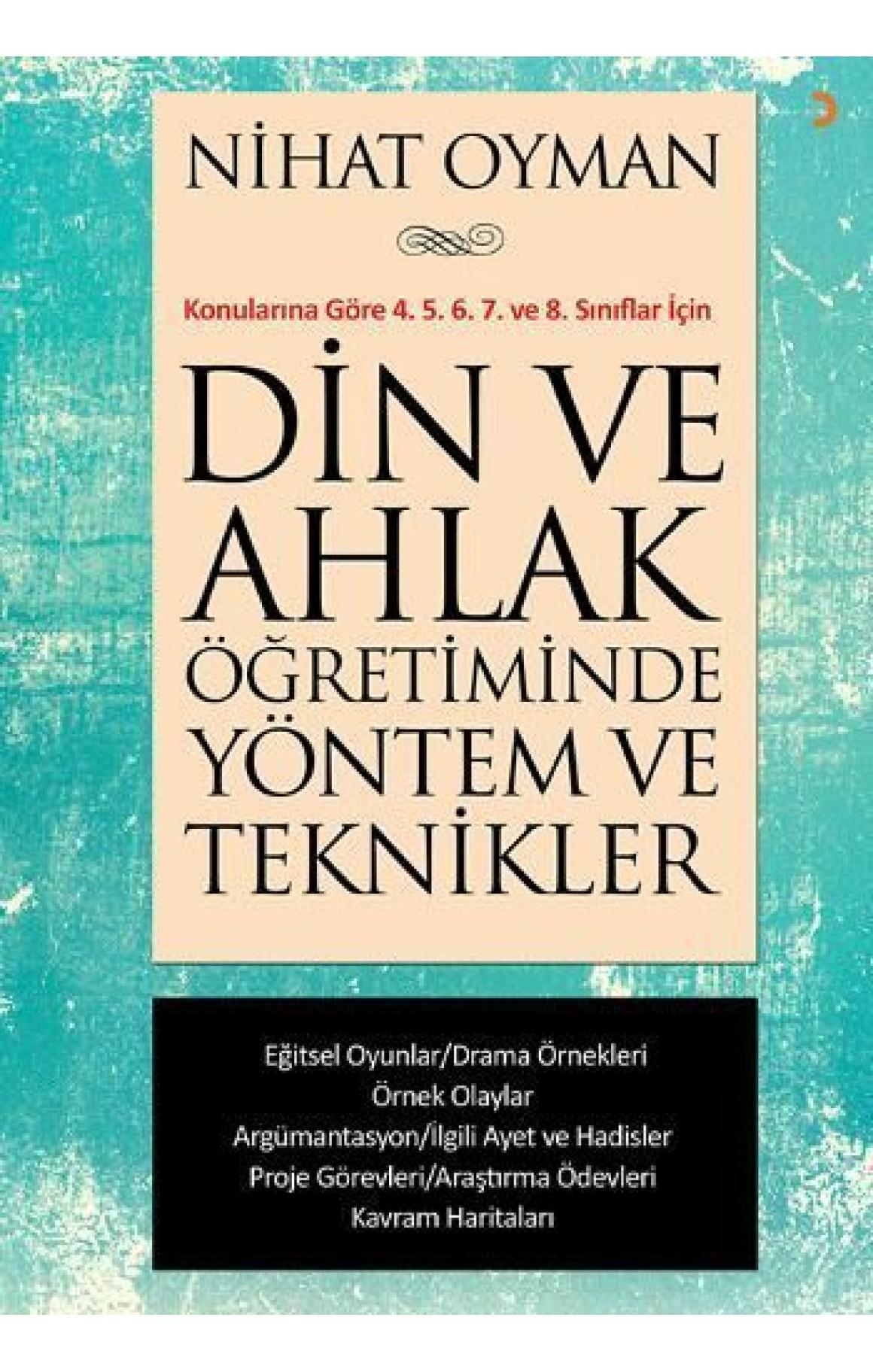 Din ve Ahlak Öğretiminde Yöntem ve Teknikler