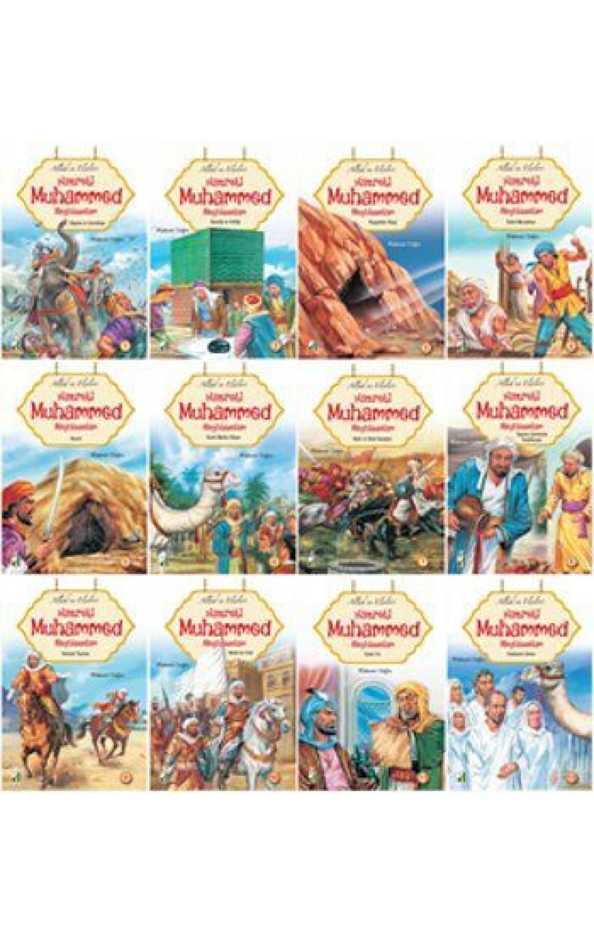 Allahın Elçileri Hazreti Muhammed Aleyhisselam (12 Kitap Takım)