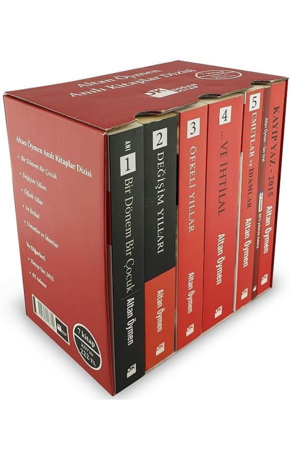 Altan Öymen Anılı Kitaplar Dizisi-7 Kitap Takım