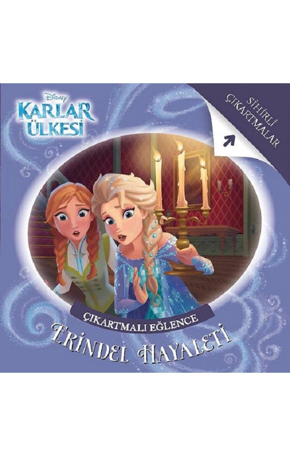 Disney Karlar Ülkesi-Erindel Hayaleti Çıkartmalı Eğlence